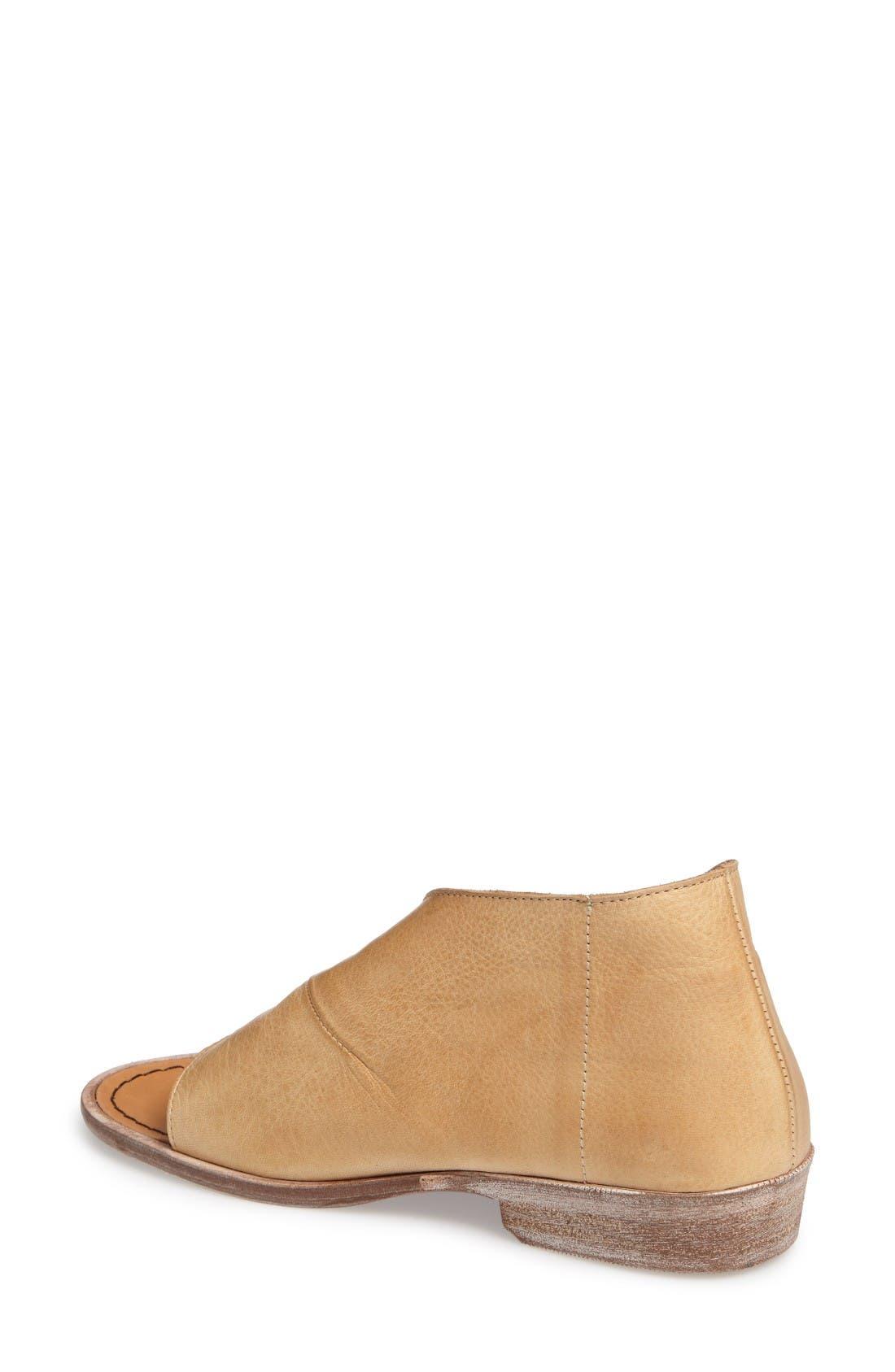 'Mont Blanc' Asymmetrical Sandal,                             Alternate thumbnail 2, color,                             Natural Leather