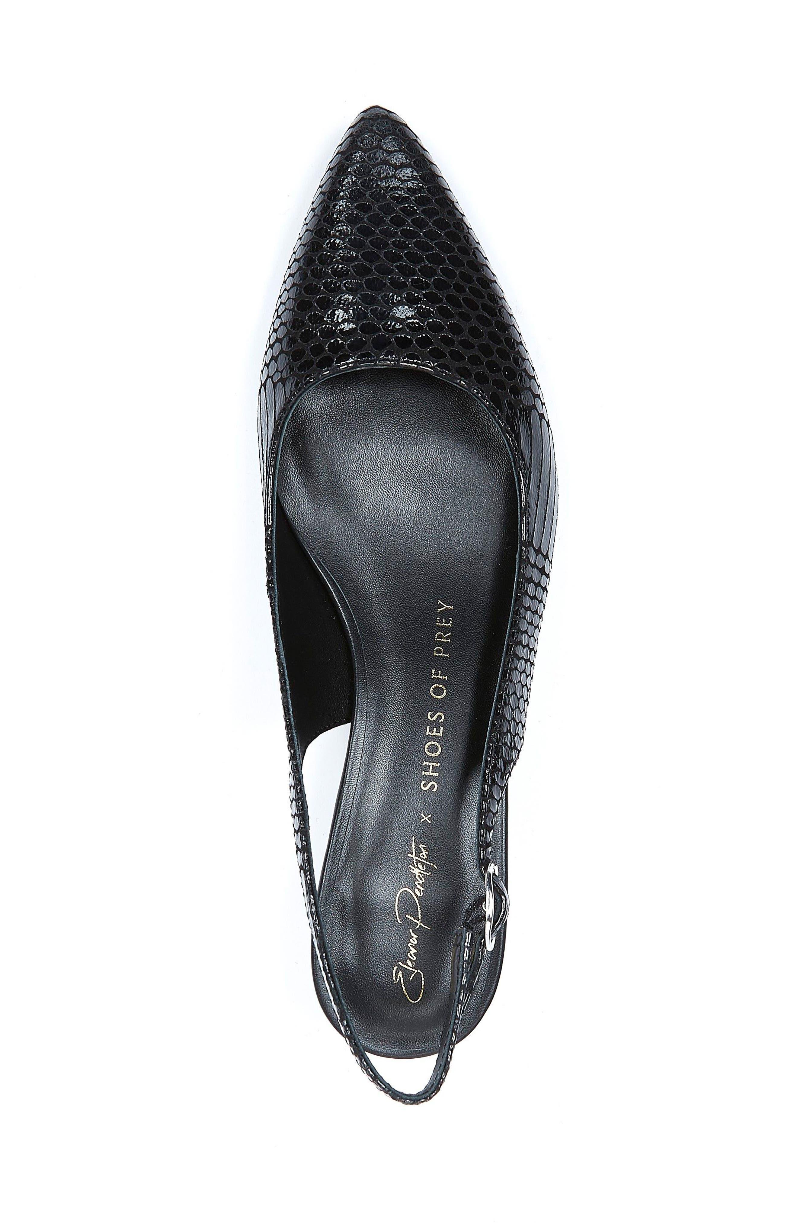 Alternate Image 3  - Shoes of Prey x Eleanor Pendleton Kitten Heel Slingback Pump (Women)