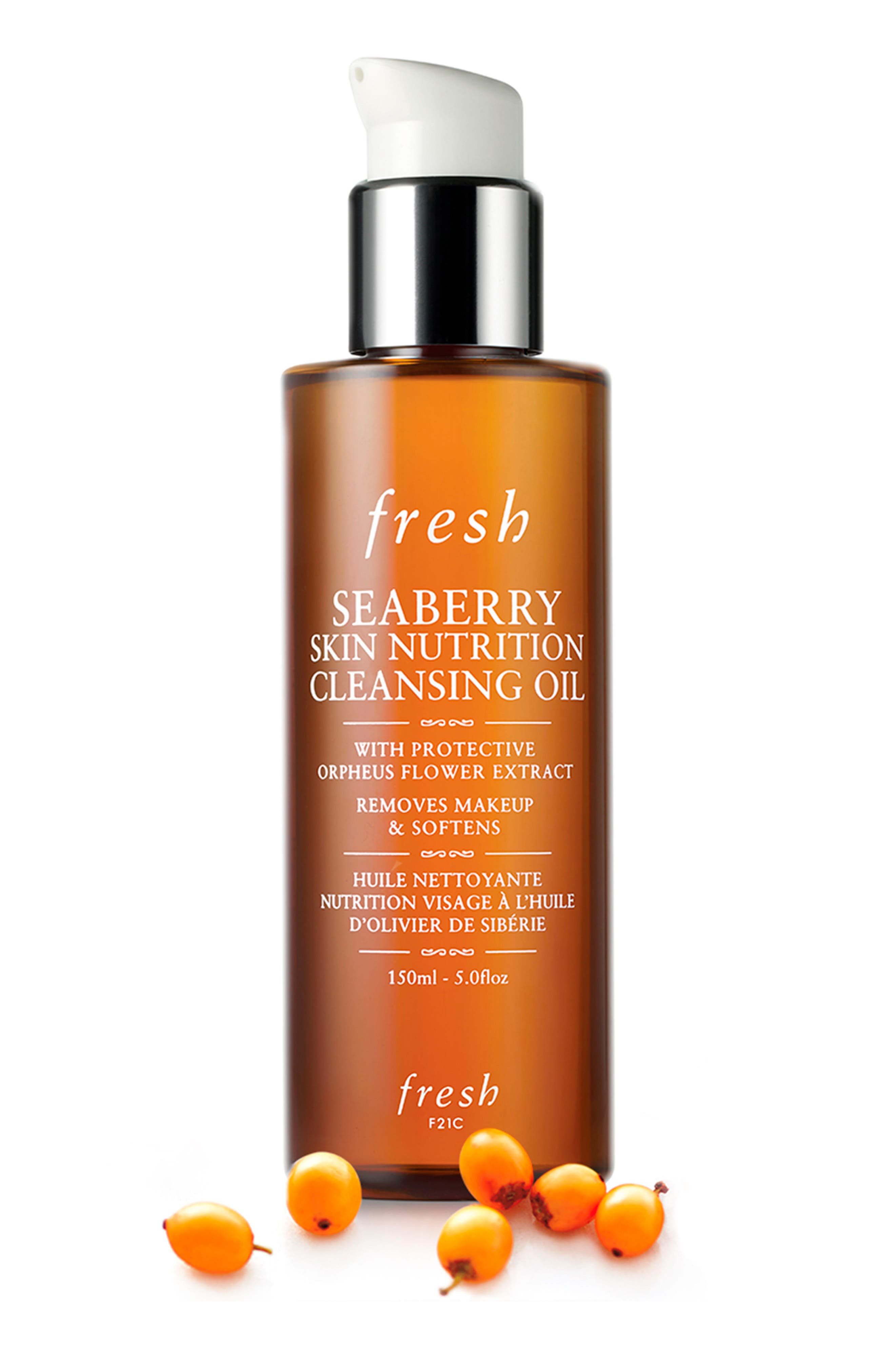 Seaberry Skin Nutrition Cleansing Oil,                             Alternate thumbnail 2, color,                             No Color