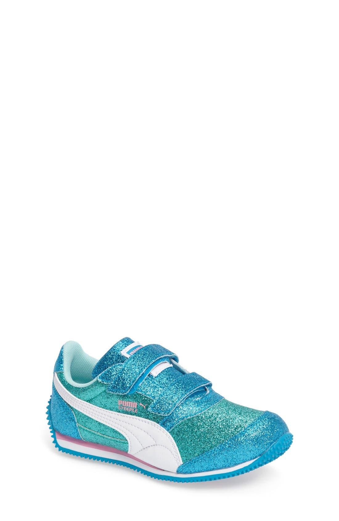 Main Image - PUMA Steeple Glitz Glam Sneaker (Baby, Walker, Toddler, Little Kid & Big Kid)