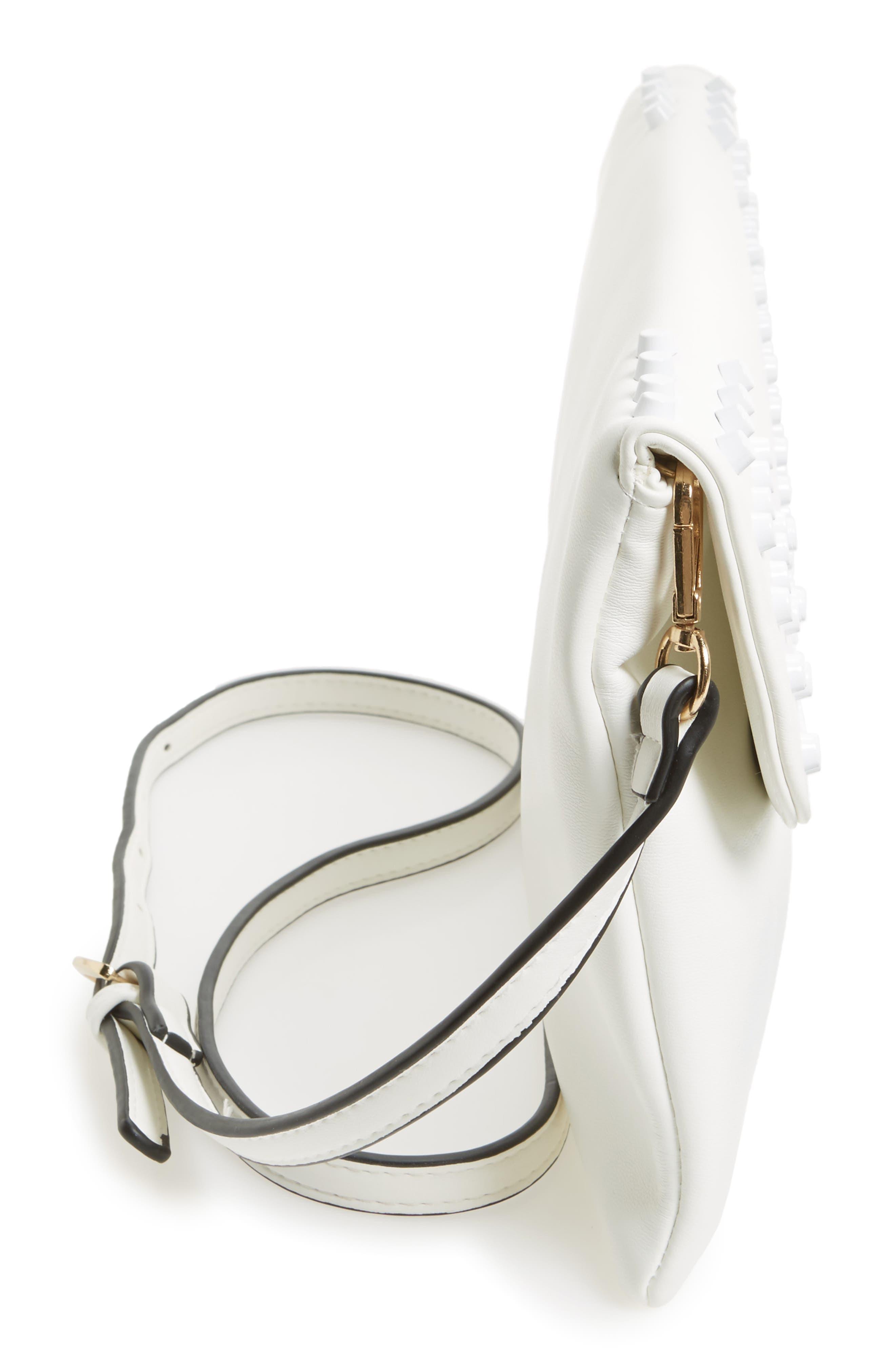 Alternate Image 3  - Sondra Roberts Studded Faux Leather Envelope Clutch