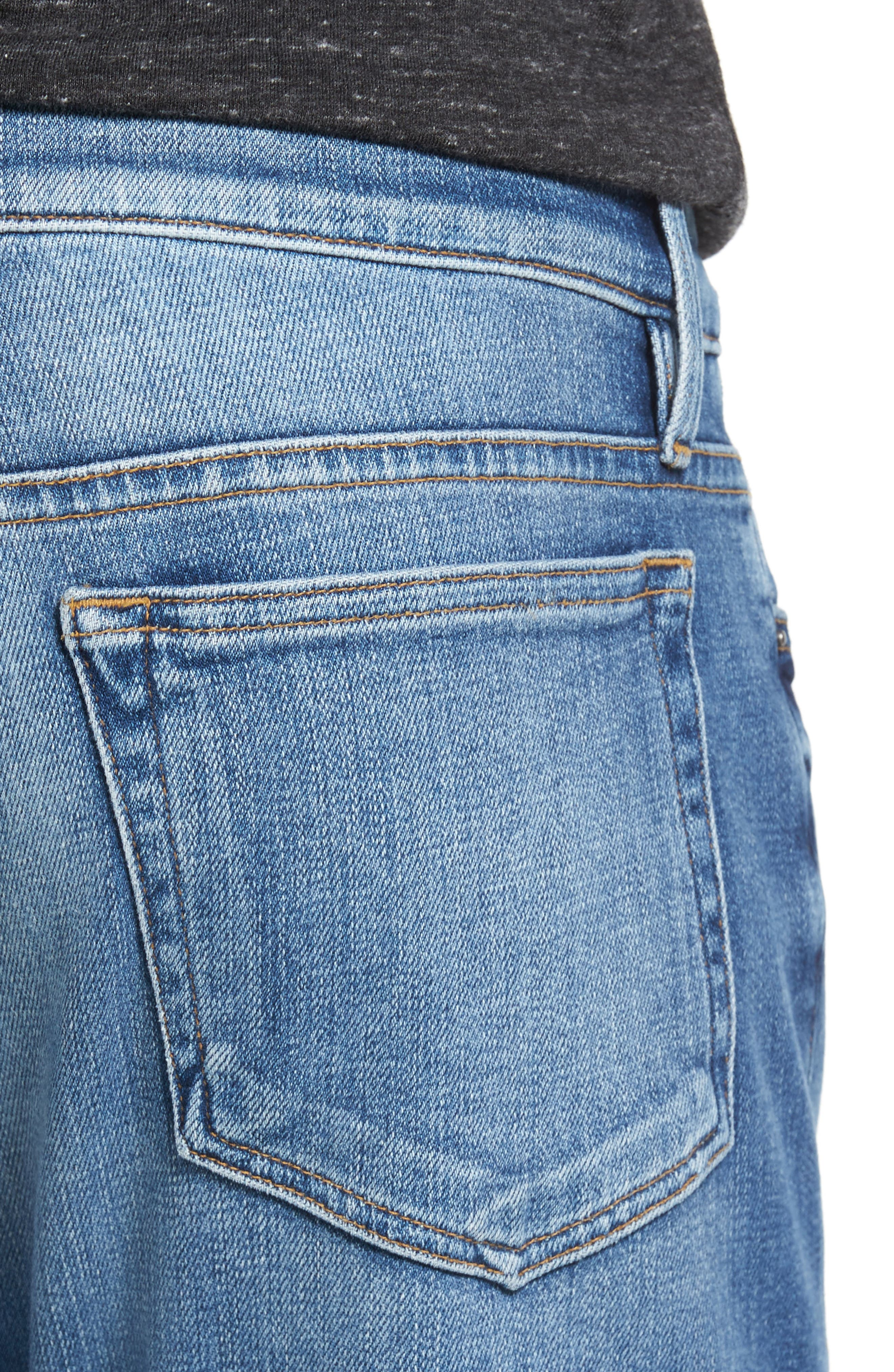 L'Homme Slim Fit Jeans,                             Alternate thumbnail 4, color,                             Palo Alto
