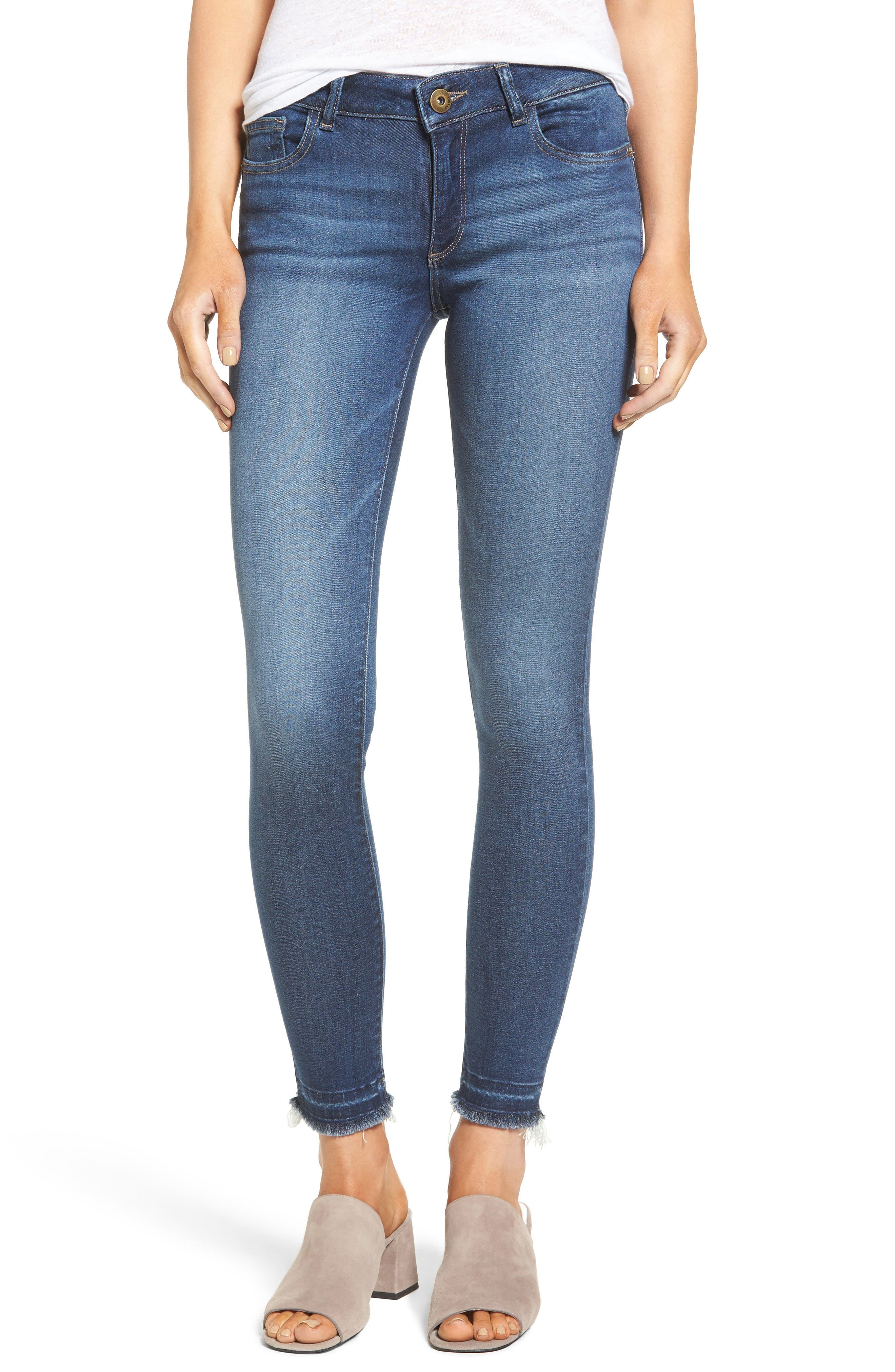 Alternate Image 1 Selected - DL1961 Emma Power Legging Jeans (Quilter)