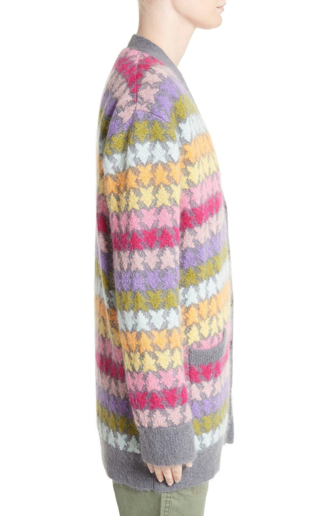 Alternate Image 5  - MARC JACOBS Star Knit Mohair Blend Cardigan
