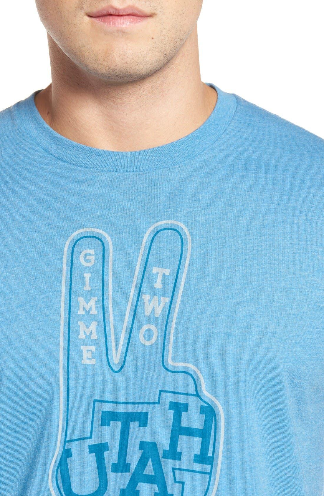 Alternate Image 4  - Travis Mathew Utah T-Shirt