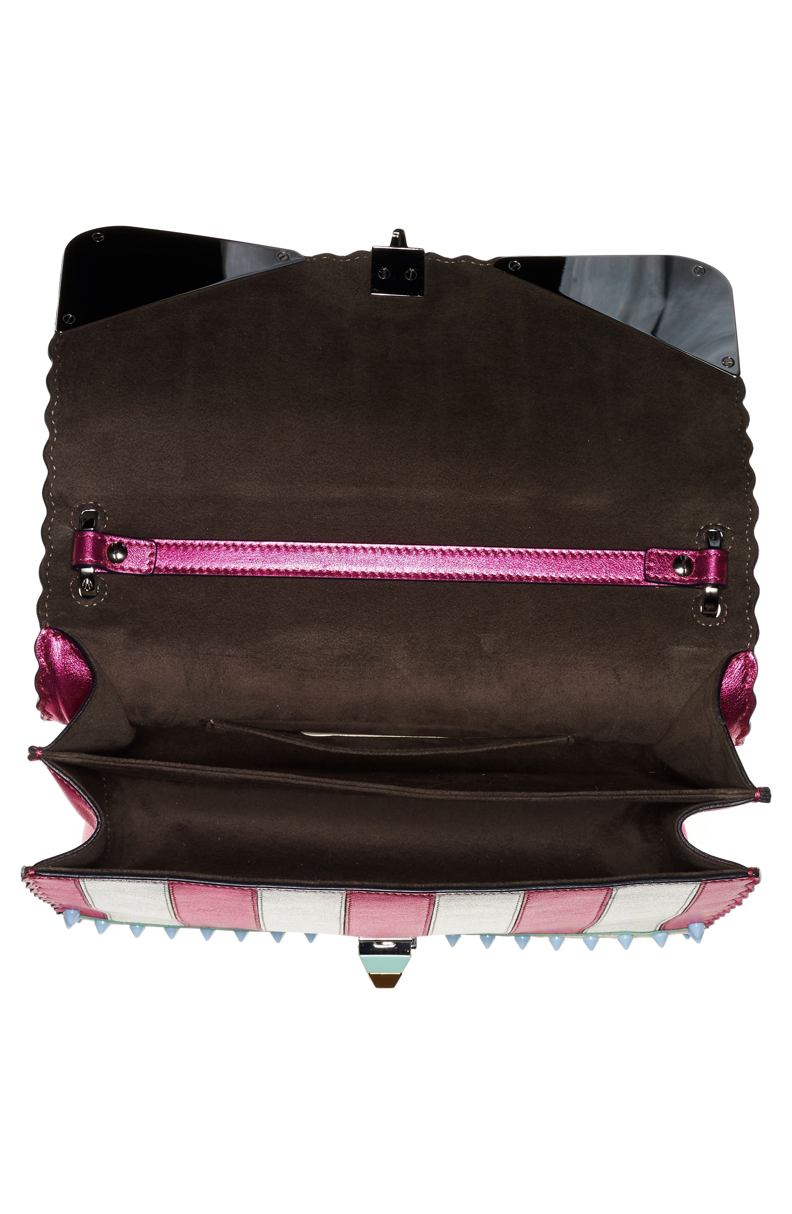 Alternate Image 3  - Fendi Kan I Metallic Monster Shoulder Bag