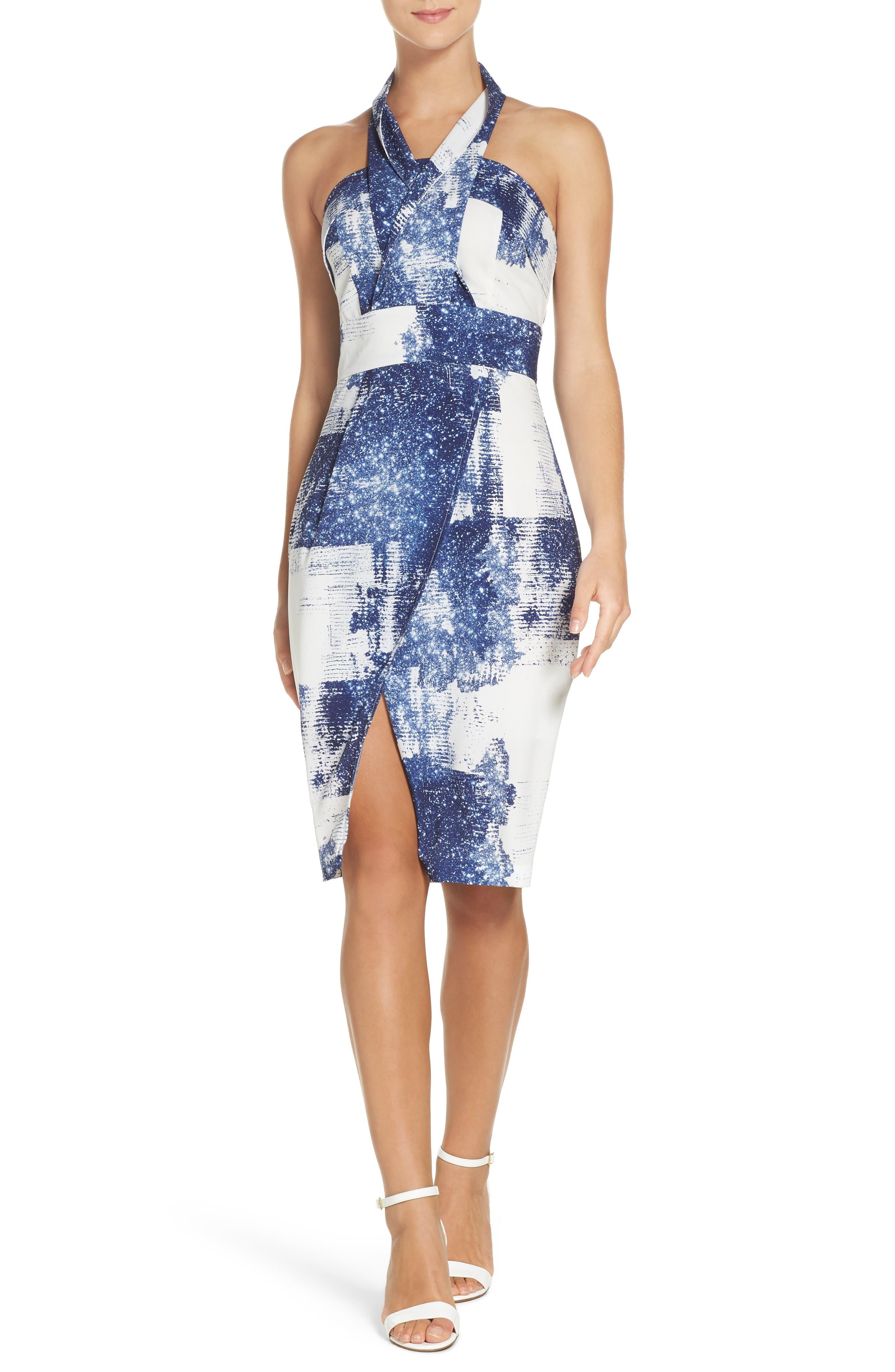 Cooper St Liquid Metal Midi Dress