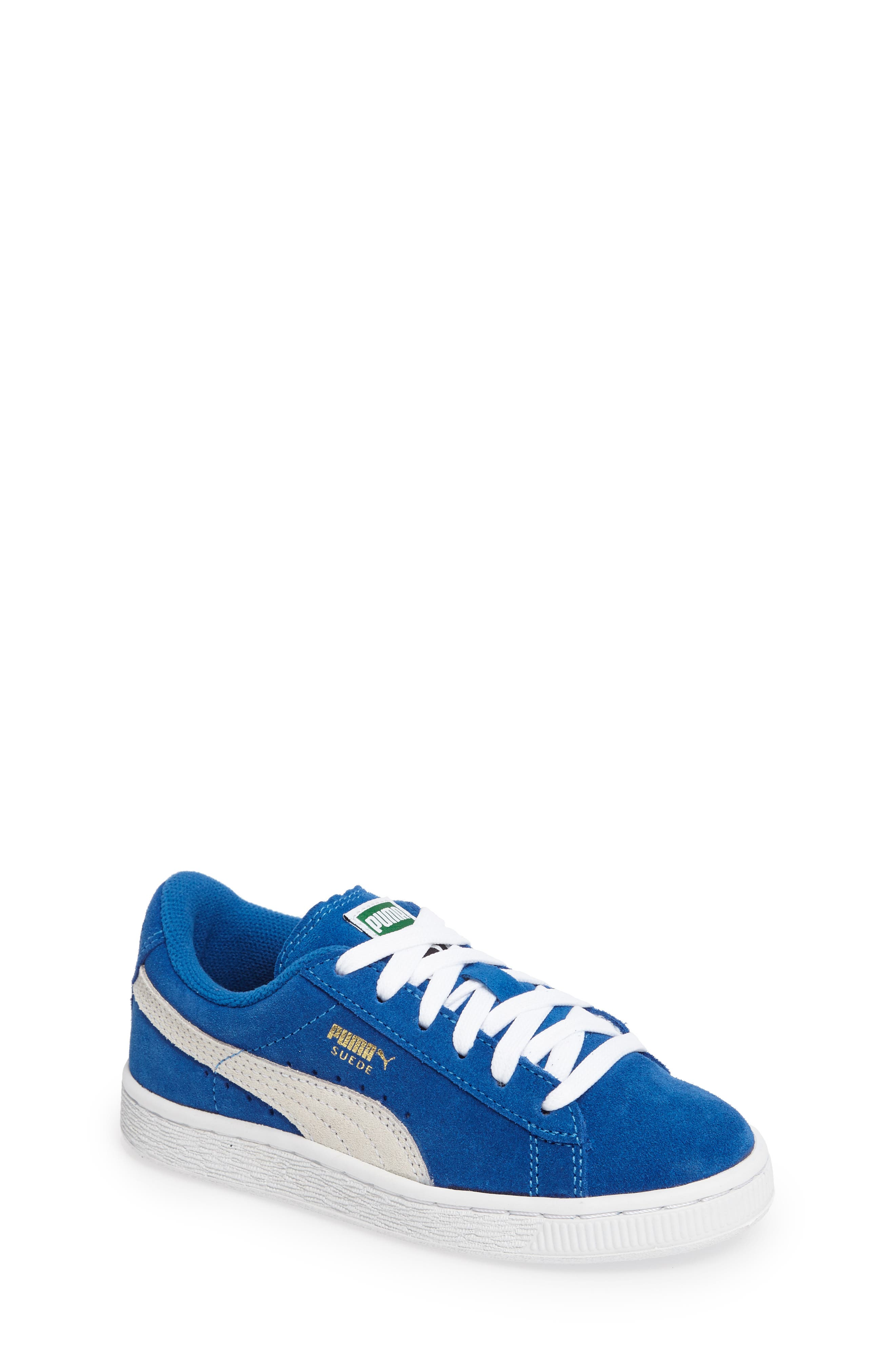 Suede PS Sneaker,                         Main,                         color, Blue