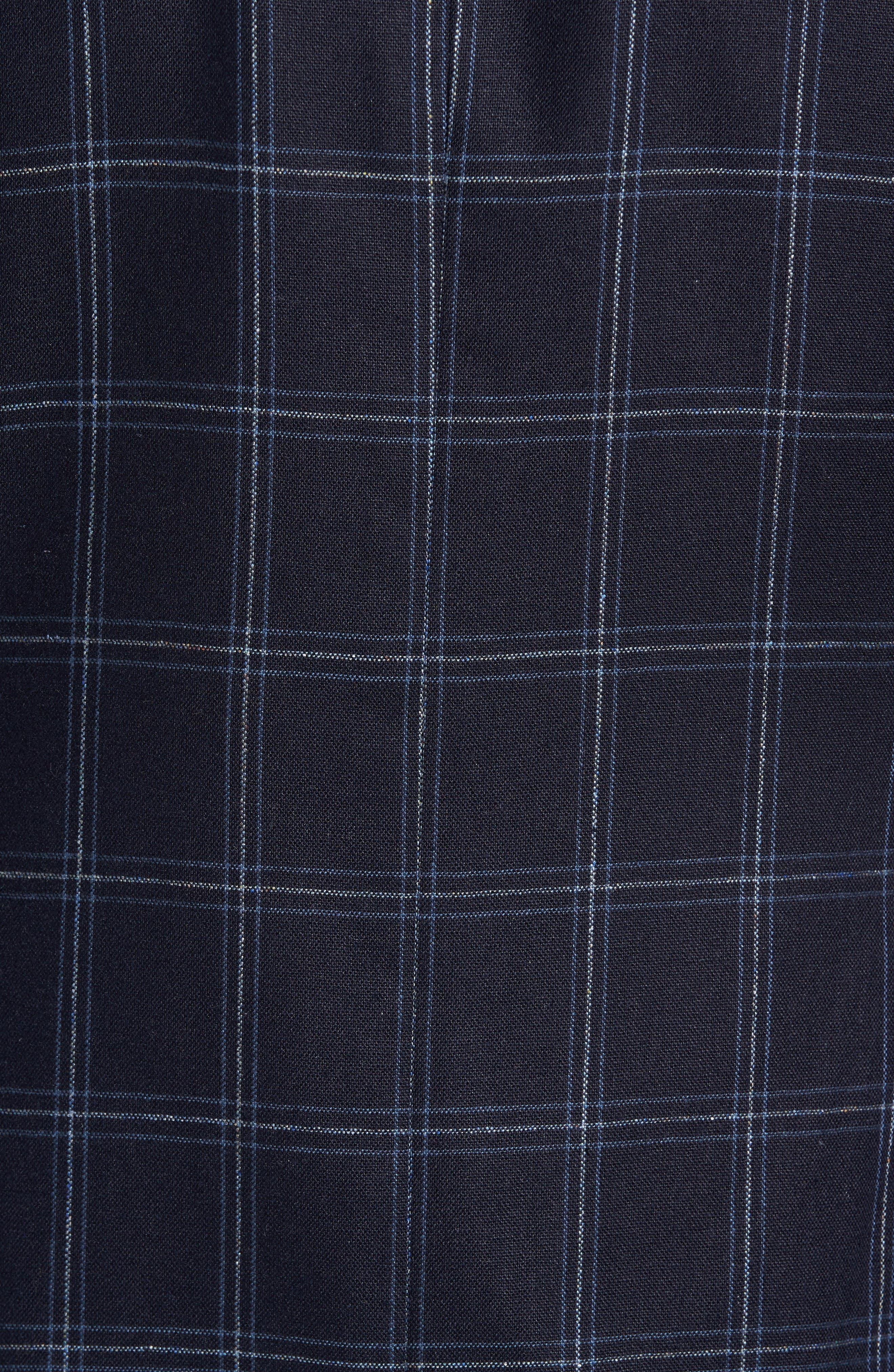 Alternate Image 5  - Kroon White Classic Fit Check Silk Sport Coat