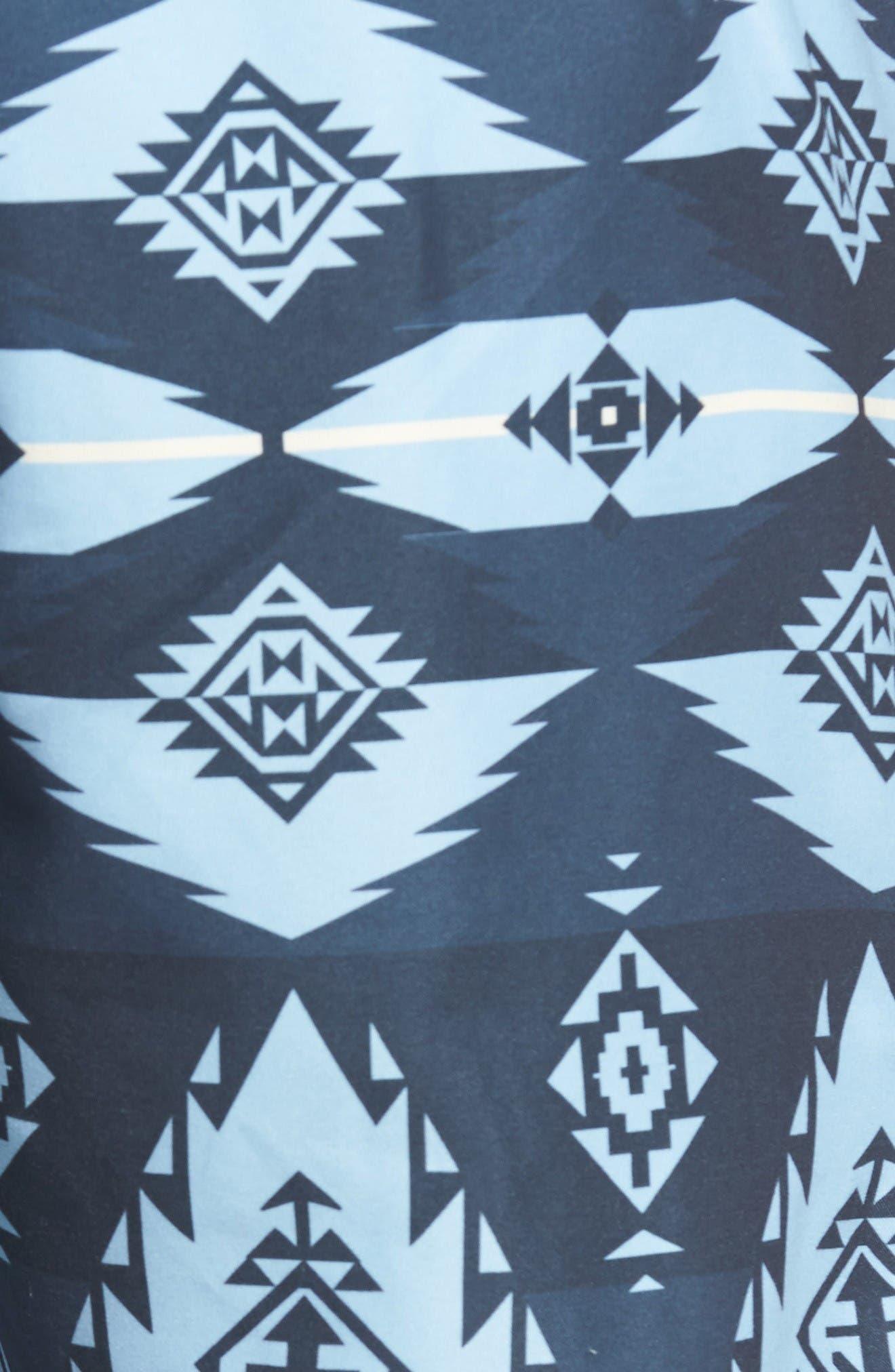 Alternate Image 5  - True Grit Blue River Board Shorts