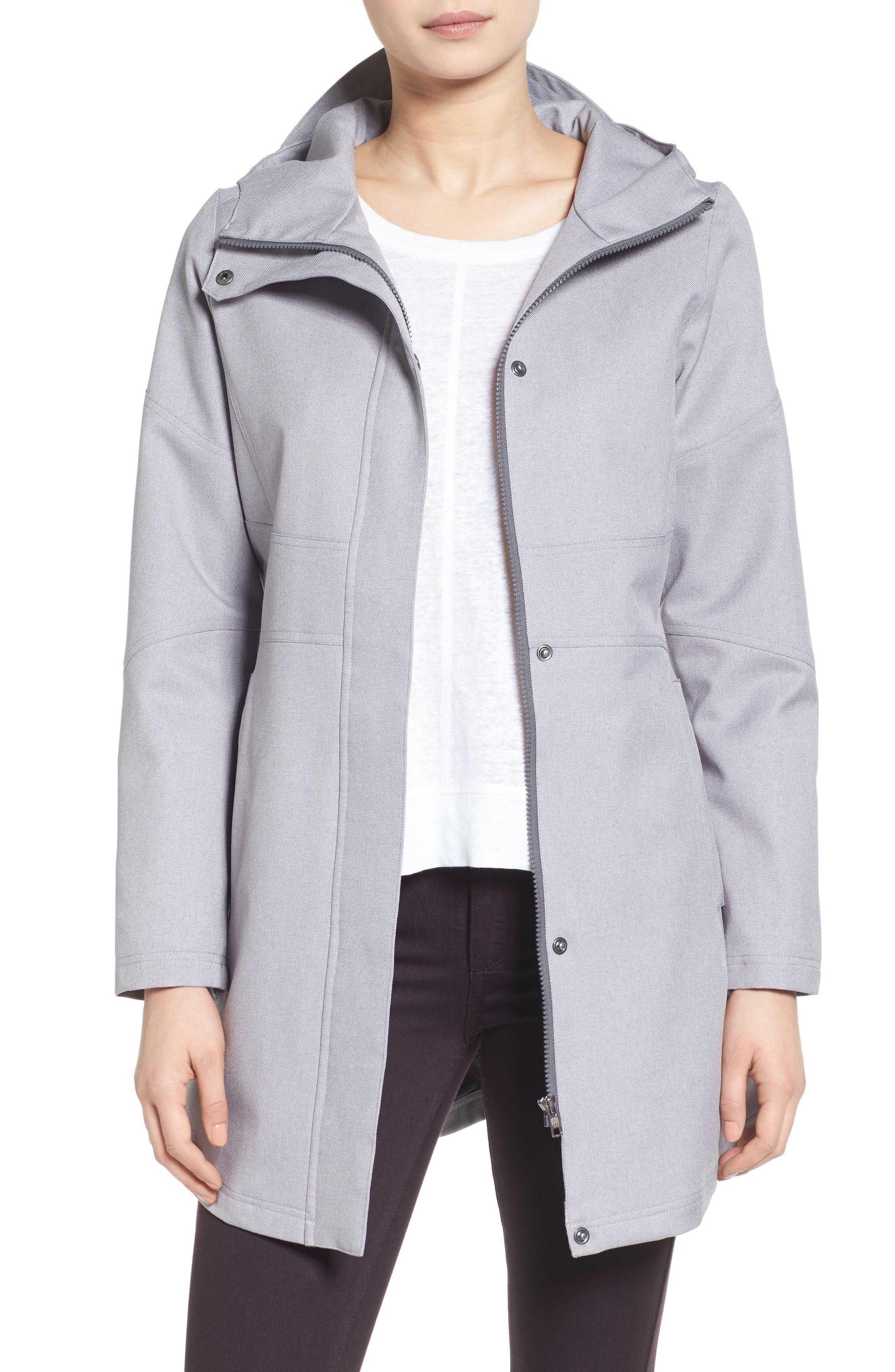 Kristen Blake Hooded Utility Trench Coat