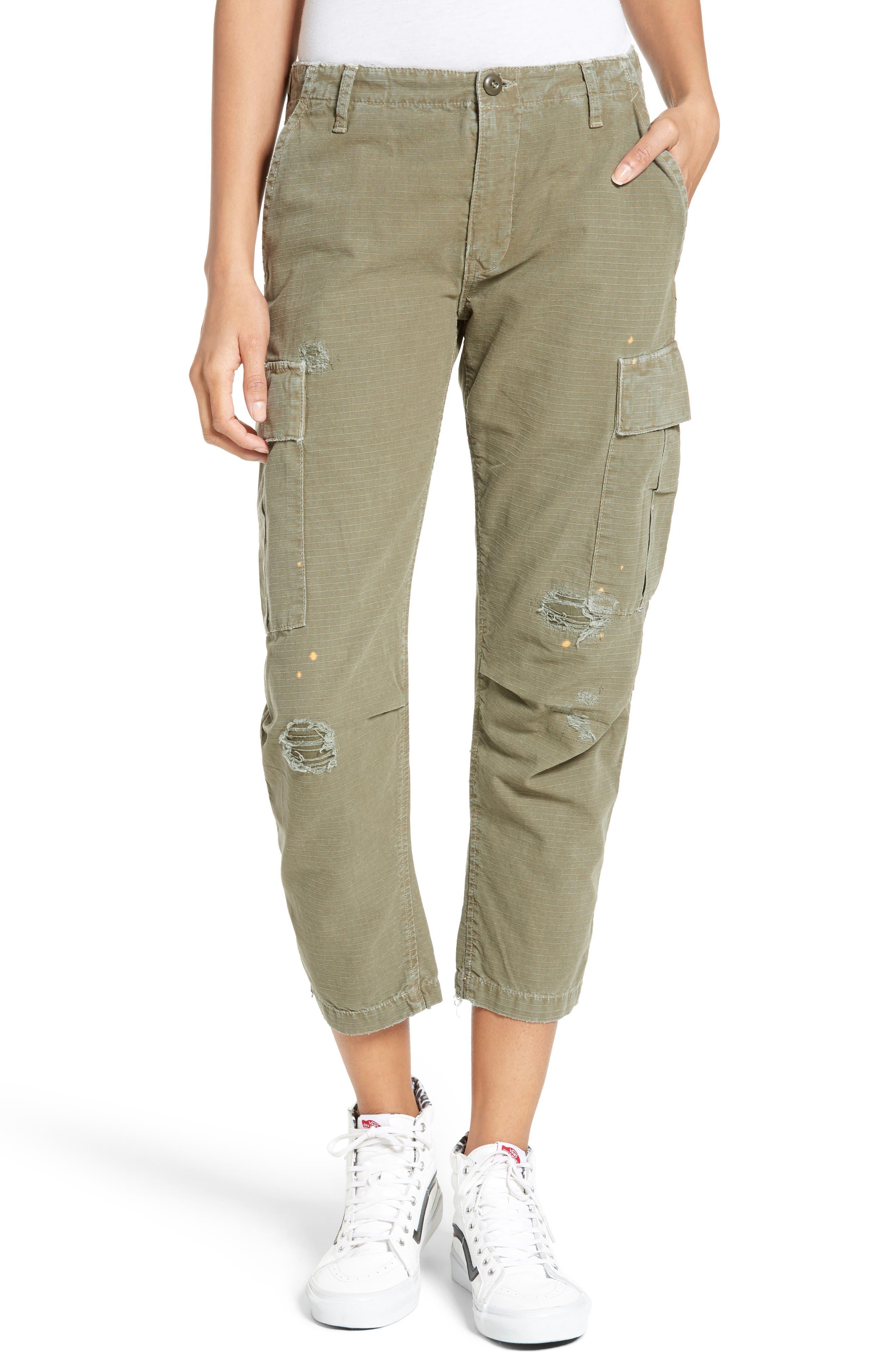 Cargo Pants,                             Main thumbnail 1, color,                             Army Green
