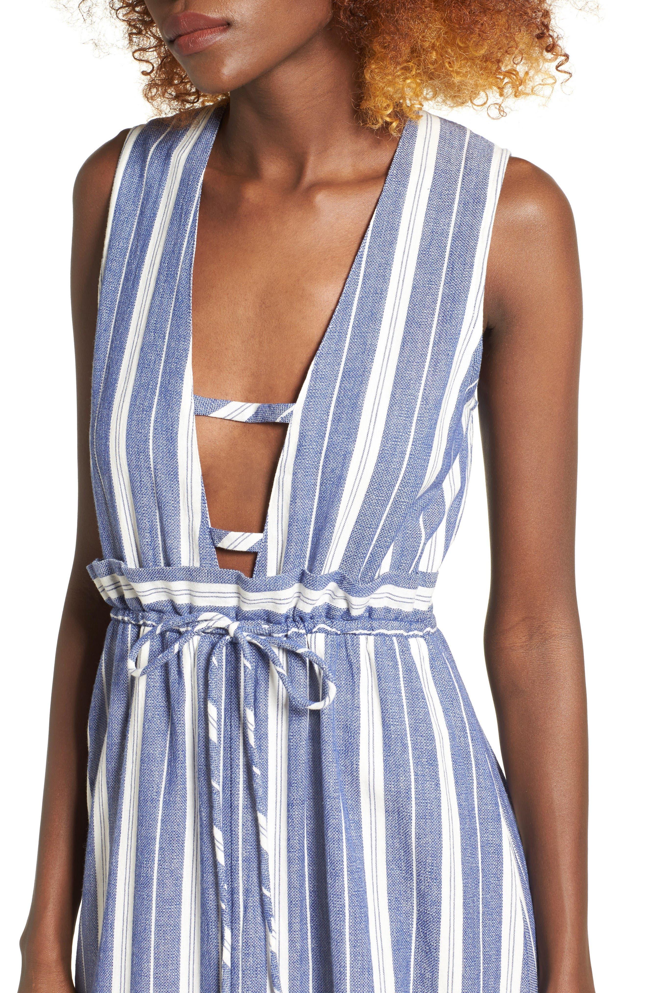 Alternate Image 5  - Tularosa Essie Stripe Maxi Dress