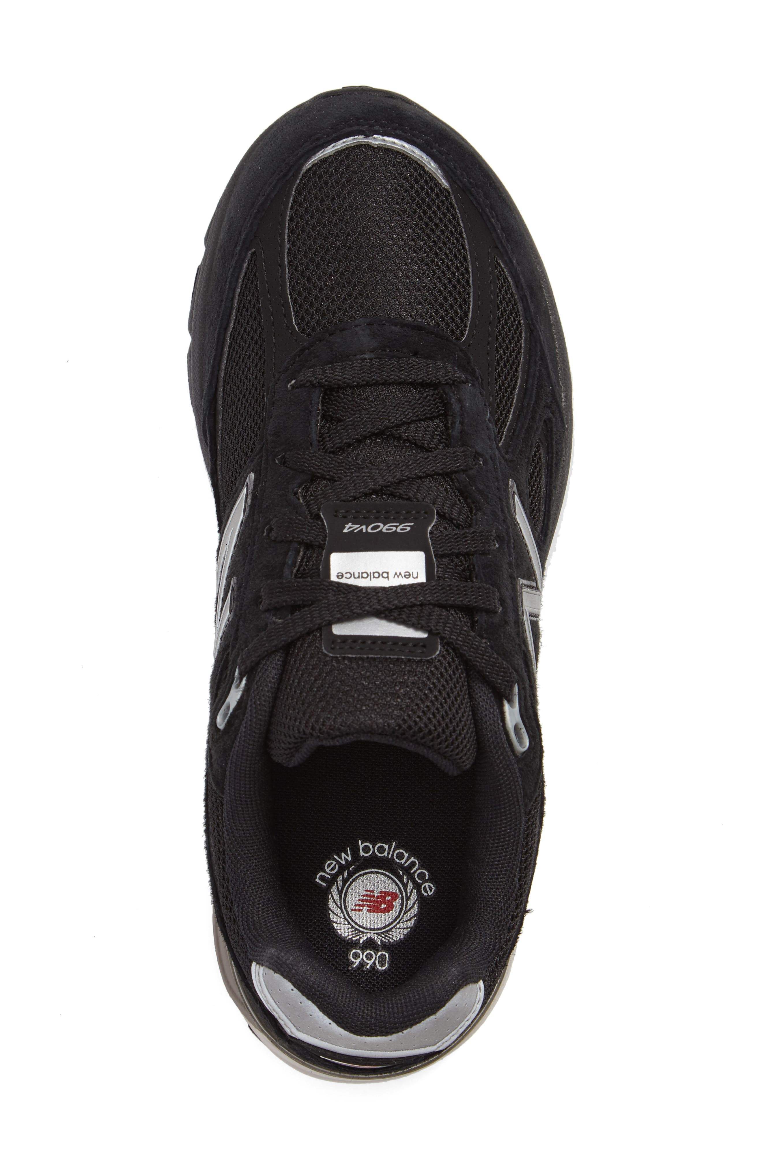 Alternate Image 3  - New Balance 990v4 Sneaker (Big Kid)