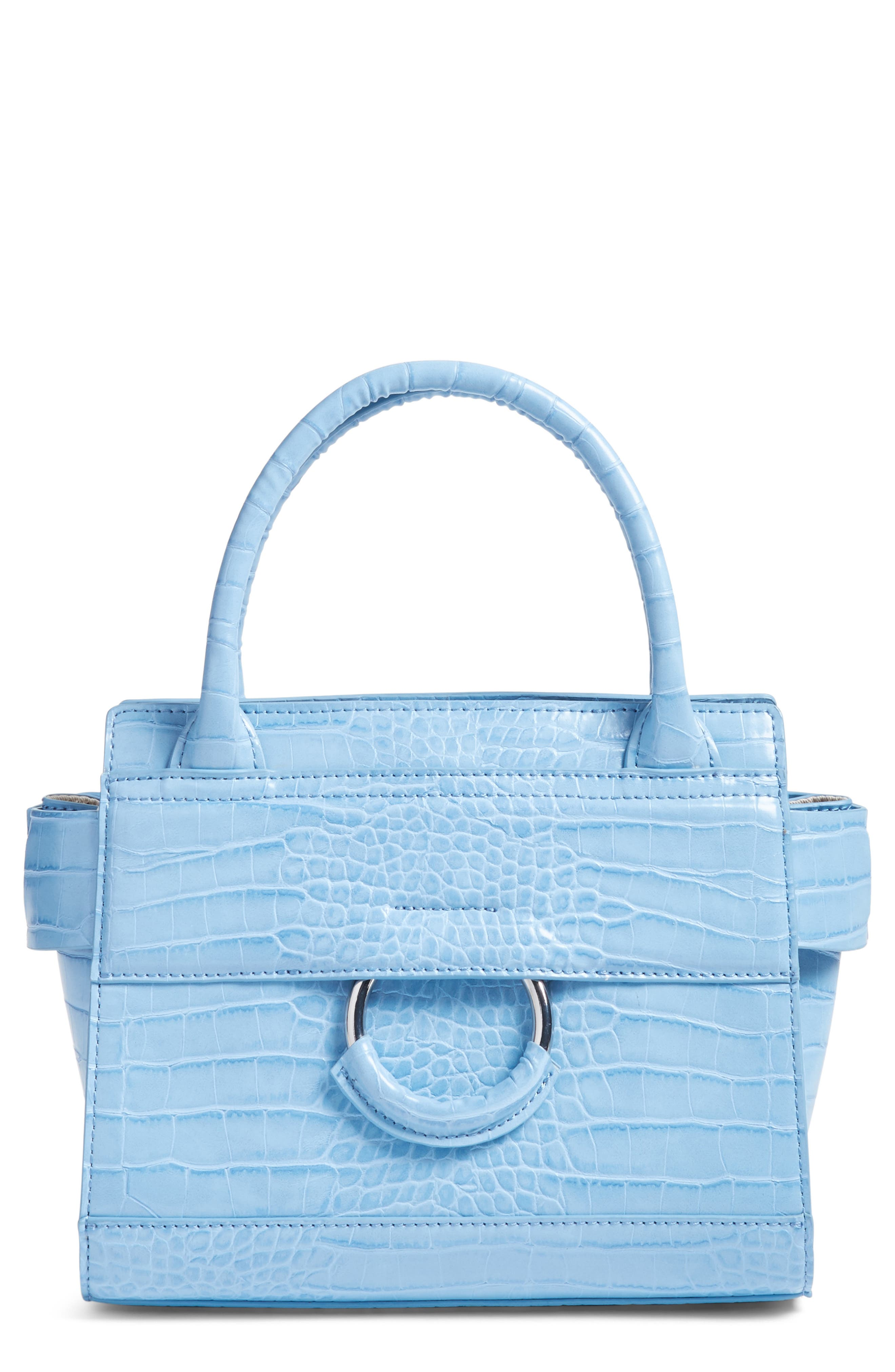 Main Image - Sam Edelman Mini Chiara Faux Leather Satchel