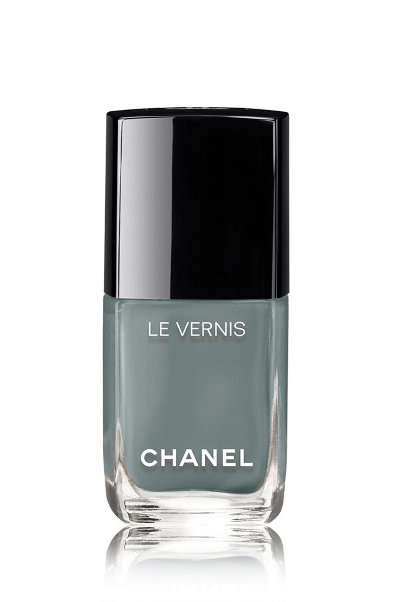 LE VERNIS<br />Longwear Nail Colour,                         Main,                         color, 566 Washed Denim