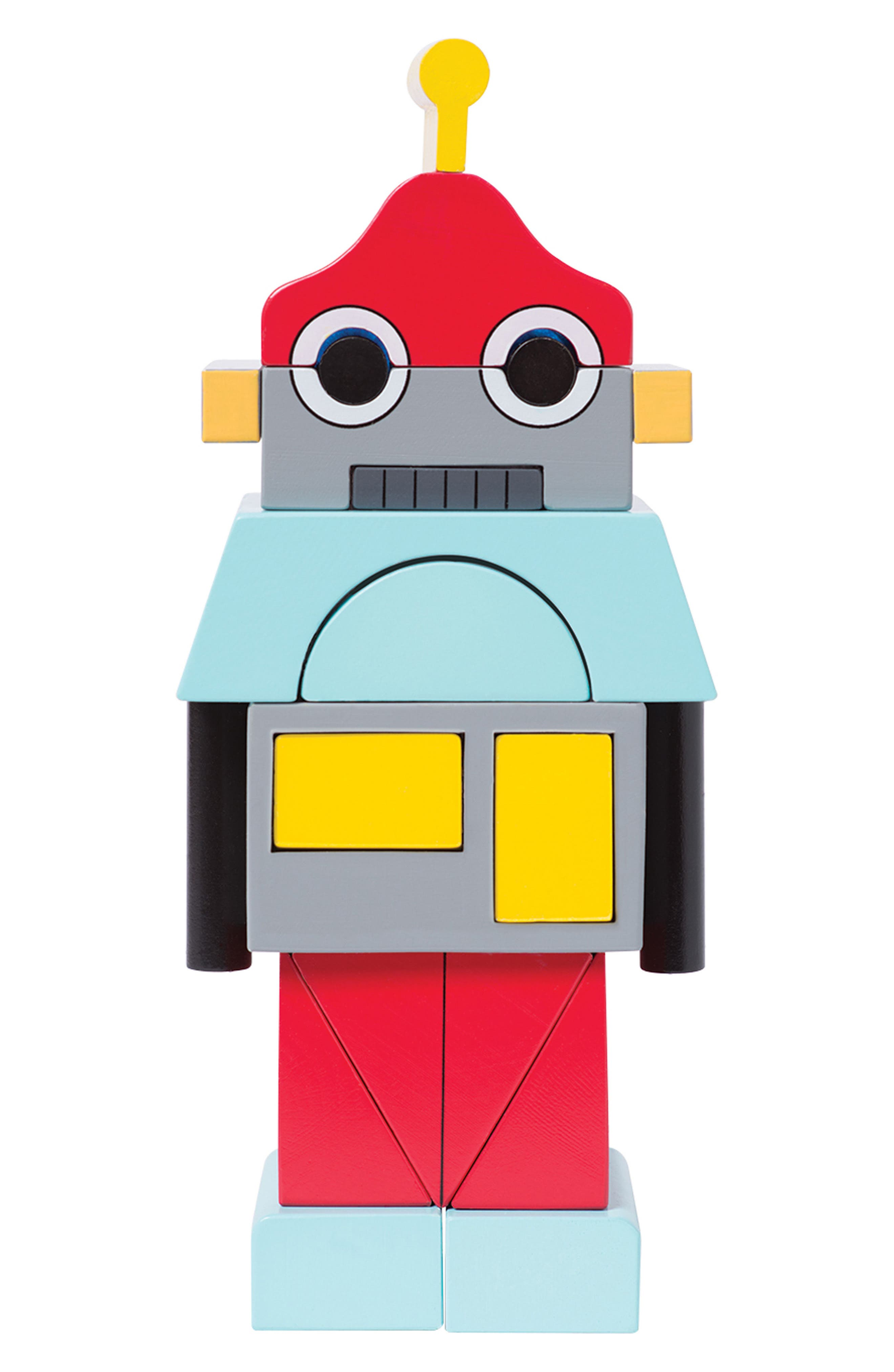 Beep the Robot Magentic Blocks,                         Main,                         color, Red