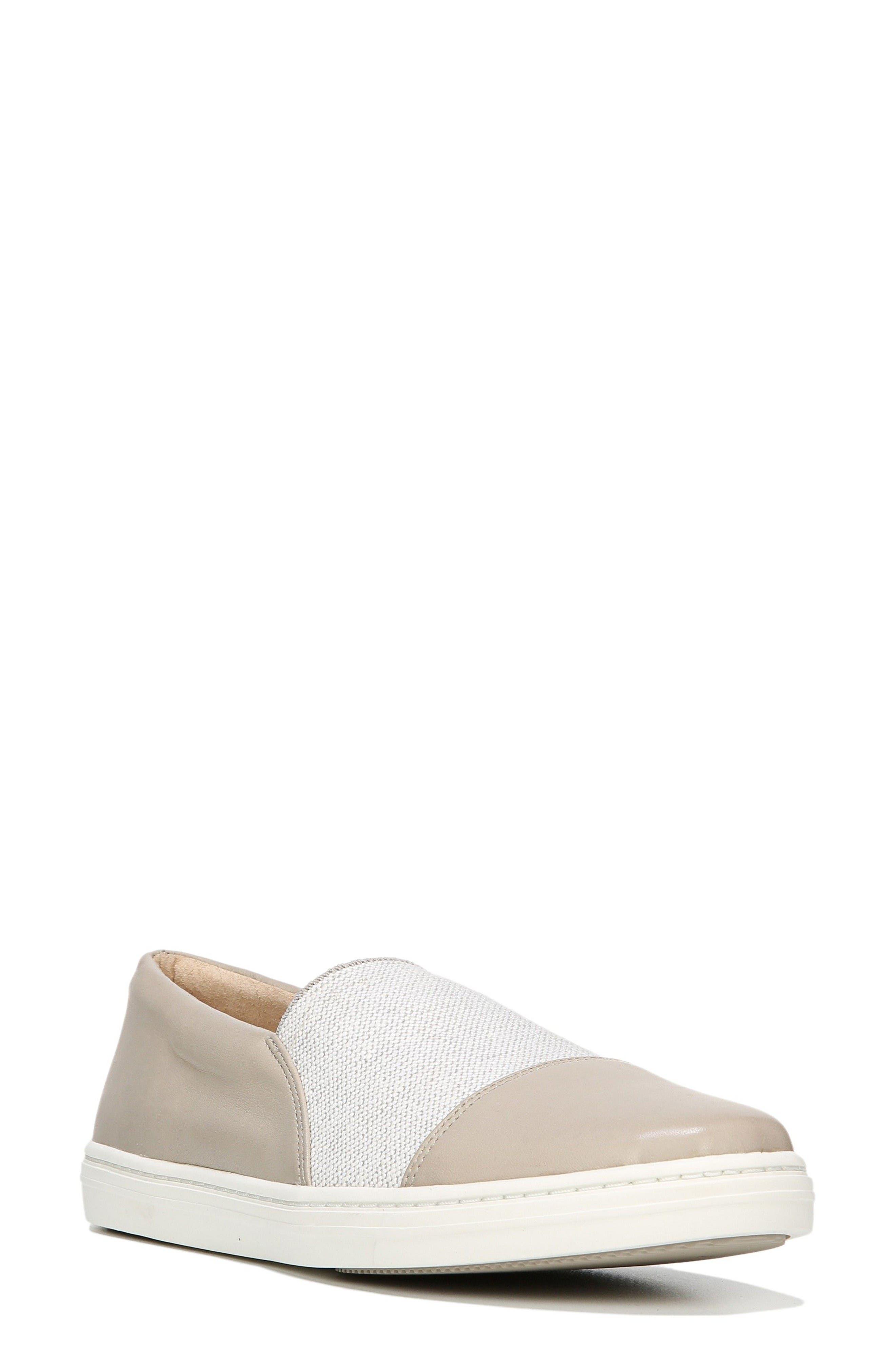 Raine Slip-On Sneaker,                             Main thumbnail 1, color,                             Pavillion Grey Leather