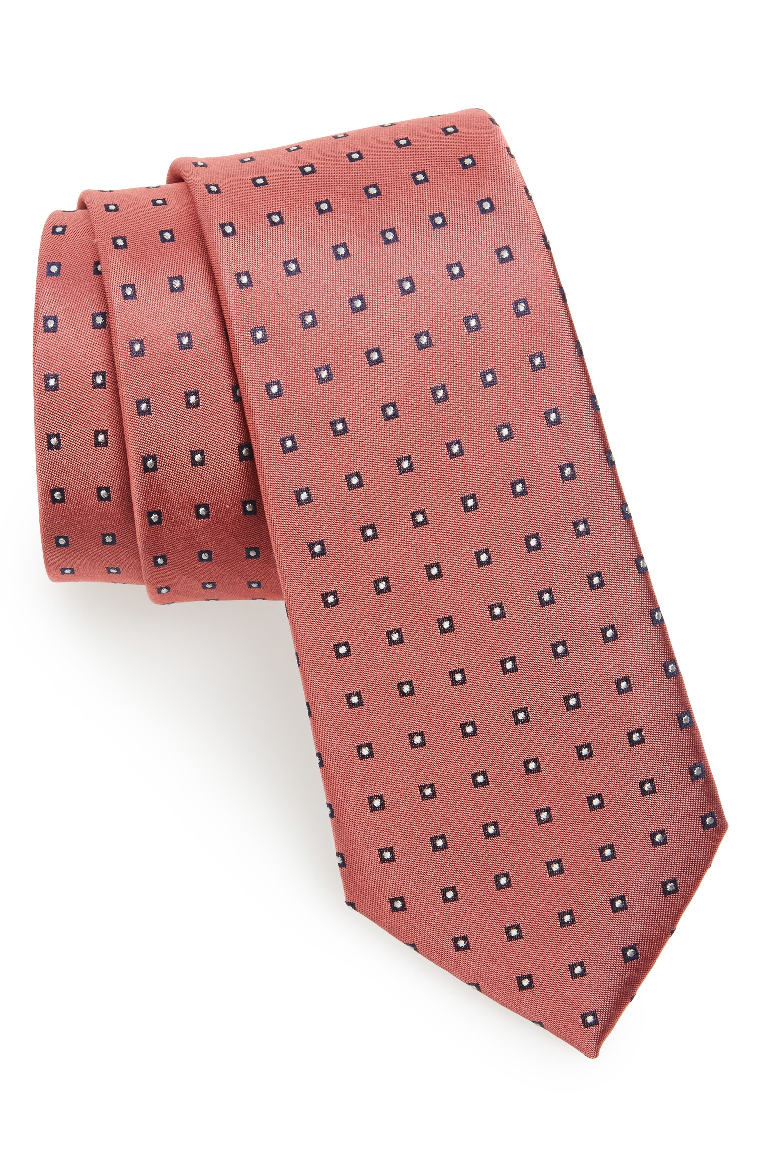Main Image - Calibrate Descrete Geometric Silk Tie