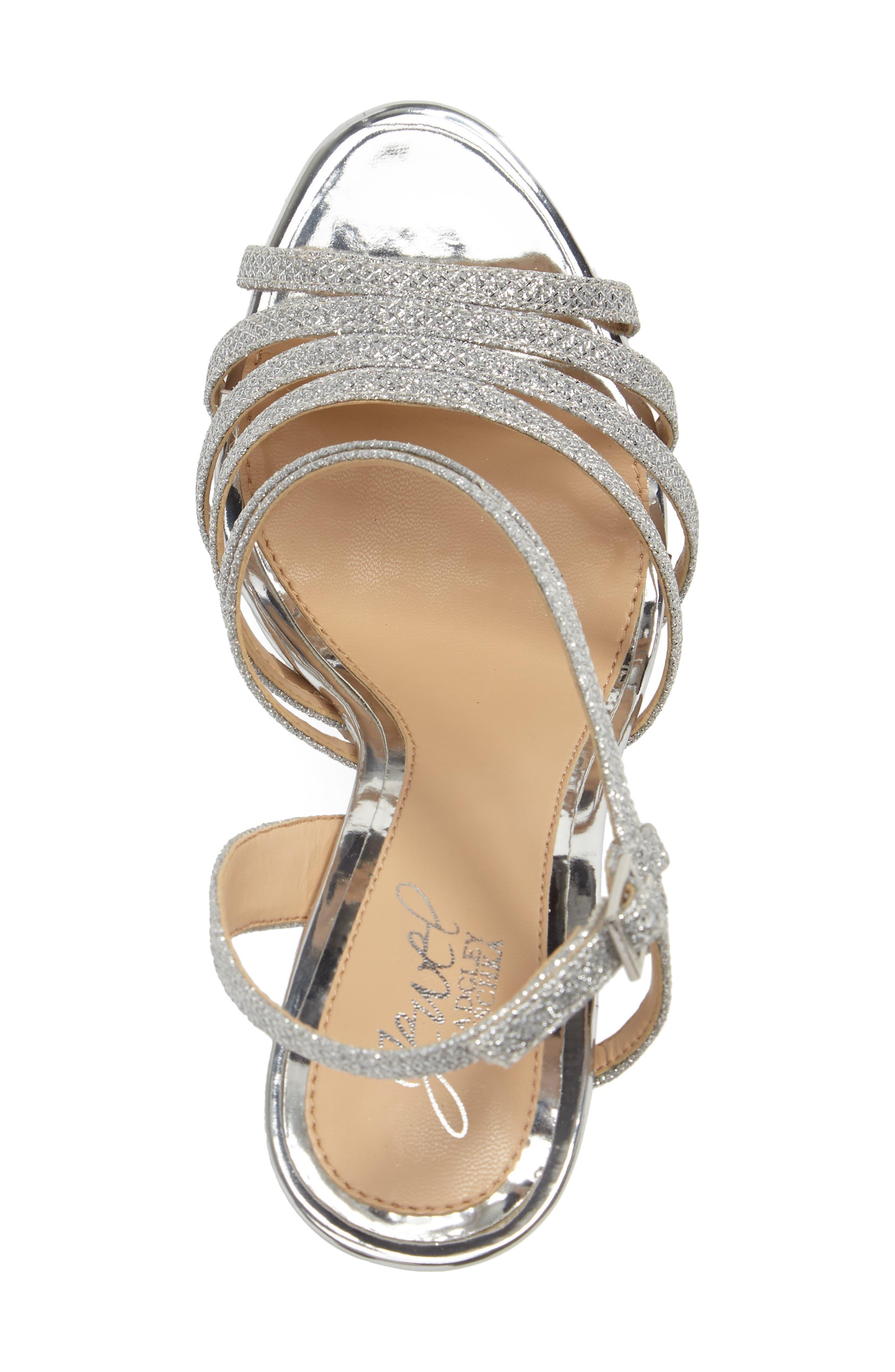 Alternate Image 3  - Jewel Badgley Mischka Humble Strappy Sandal (Women)