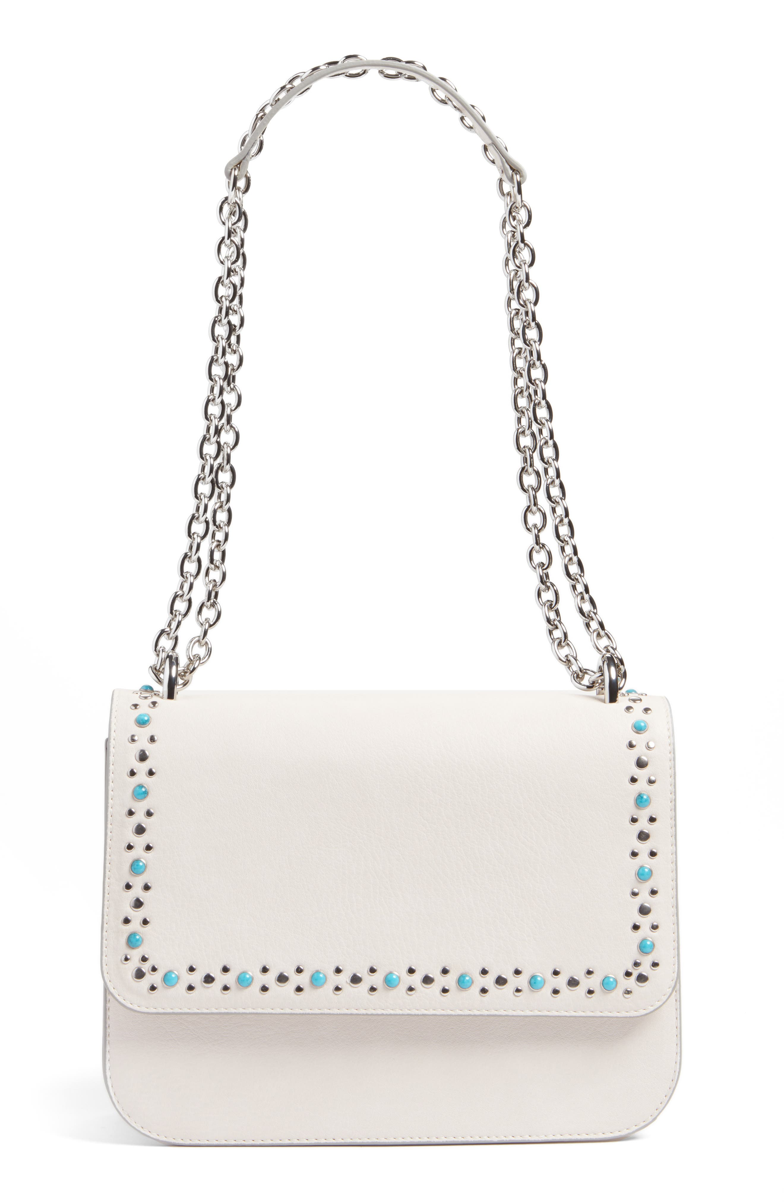 Alternate Image 1 Selected - Chelsea28 Dahlia Stone Faux Leather Crossbody Bag