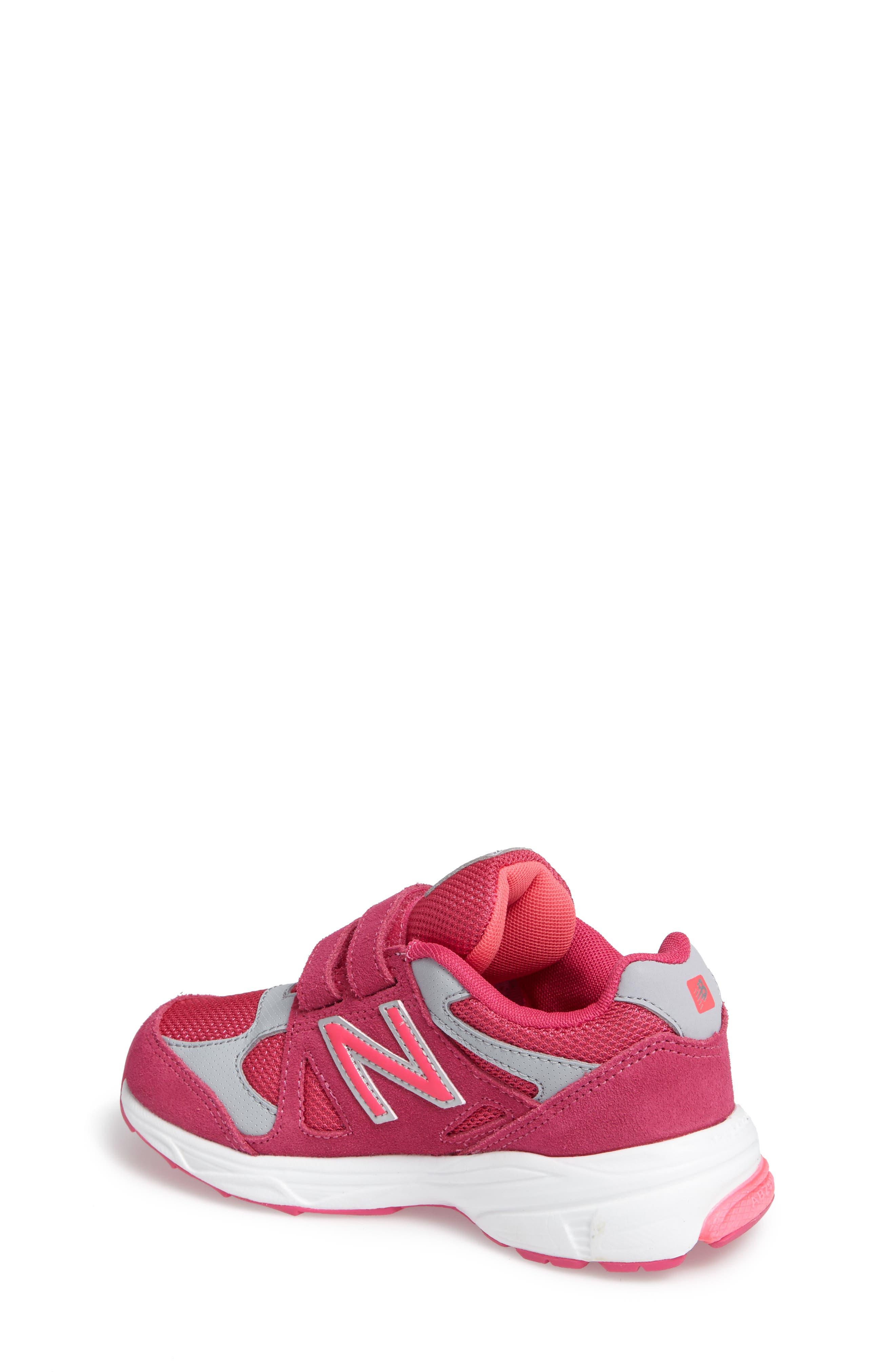 888 Sneaker,                             Alternate thumbnail 2, color,                             Pink/Grey