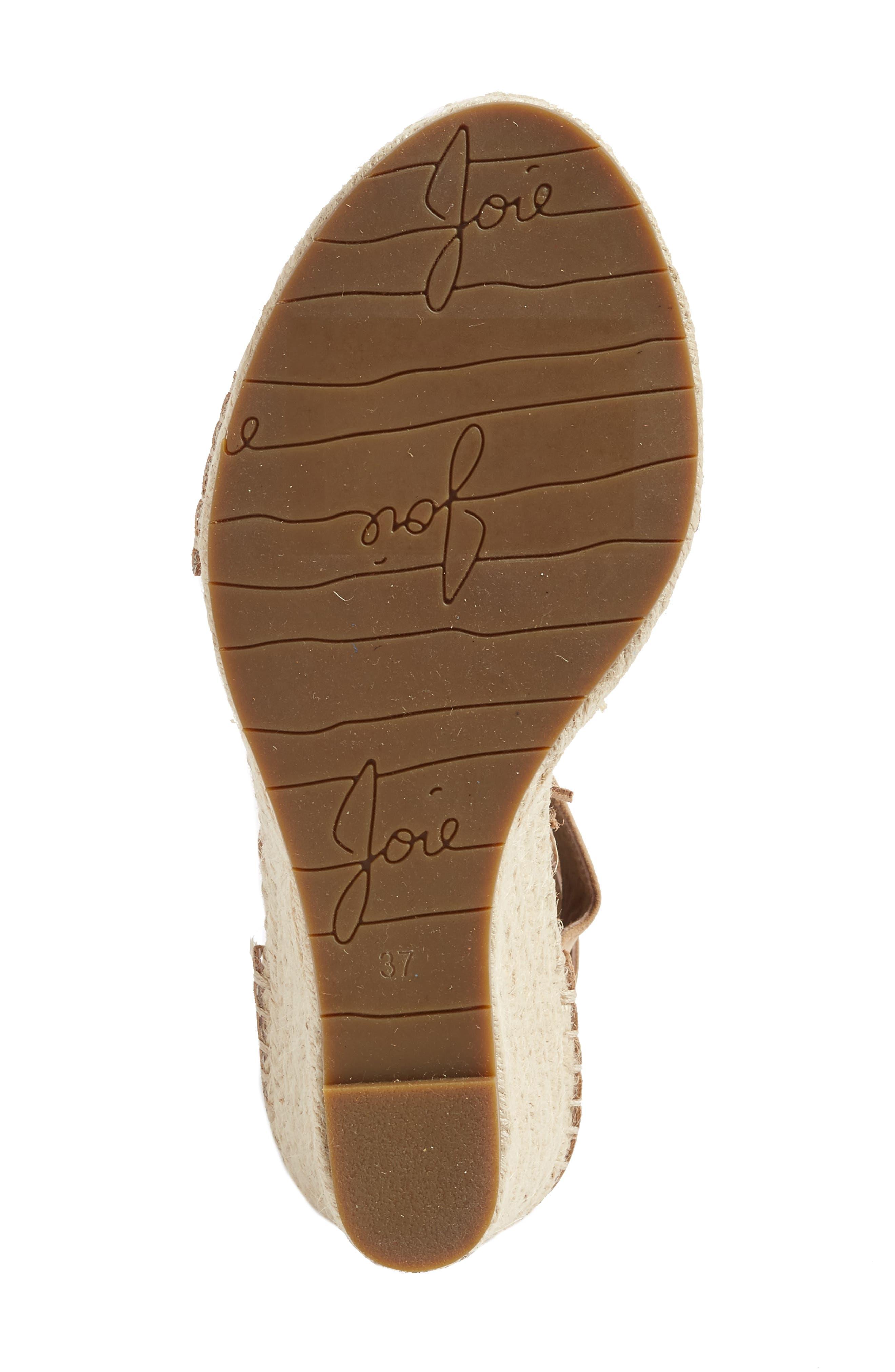 Alternate Image 4  - Joie Delilah Espadrille Wedge Sandal (Women)