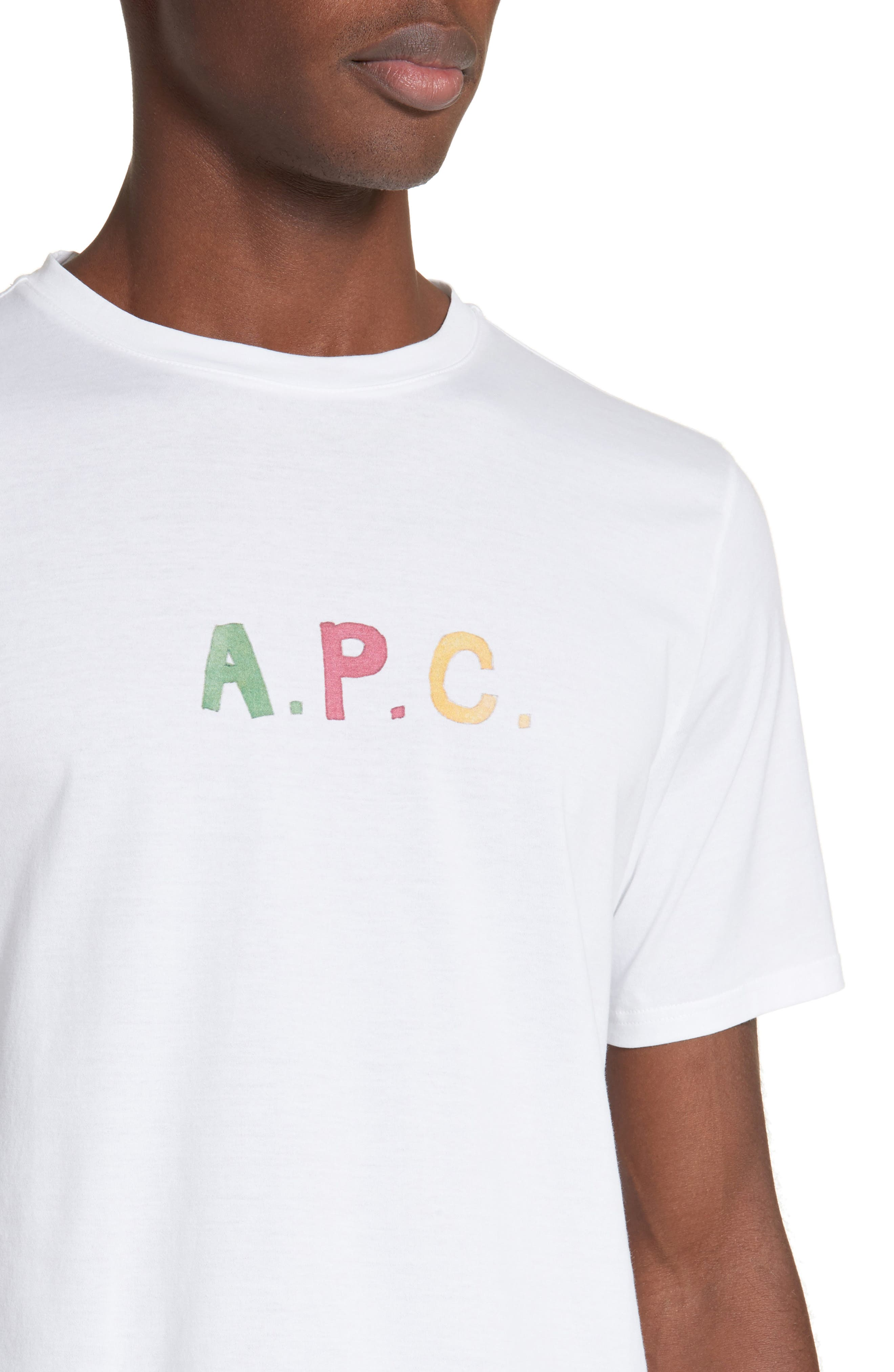 Couleurs T-Shirt,                             Alternate thumbnail 4, color,                             White