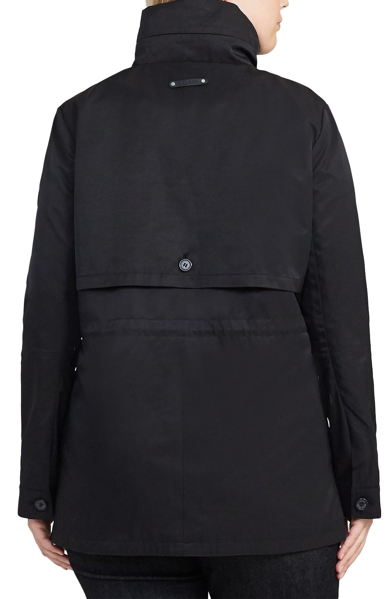 Alternate Image 3  - Lauren Ralph Lauren Hooded Anorak (Plus Size)
