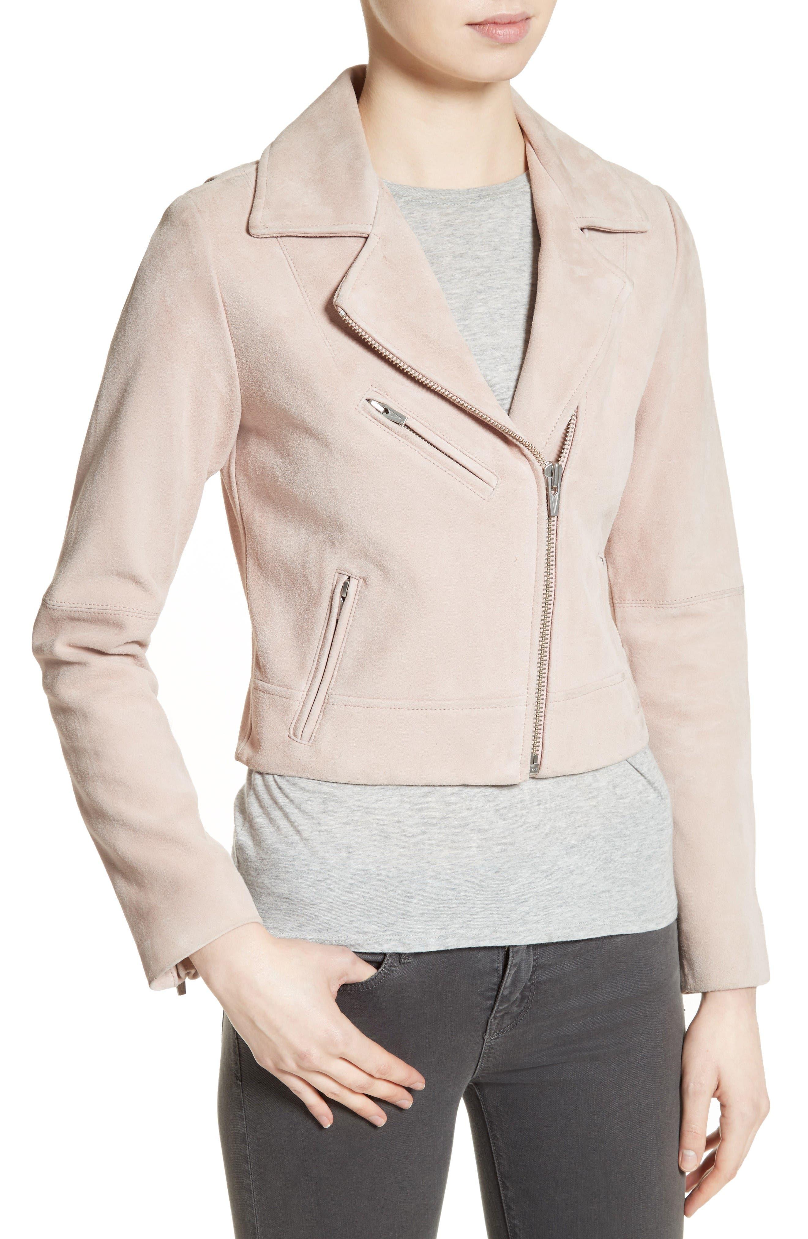 Alternate Image 4  - Veda Nova Suede Moto Jacket