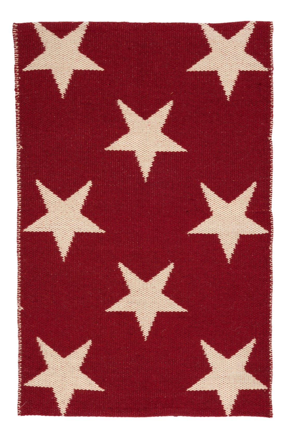 Star Indoor/Outdoor Rug,                             Main thumbnail 1, color,                             Red
