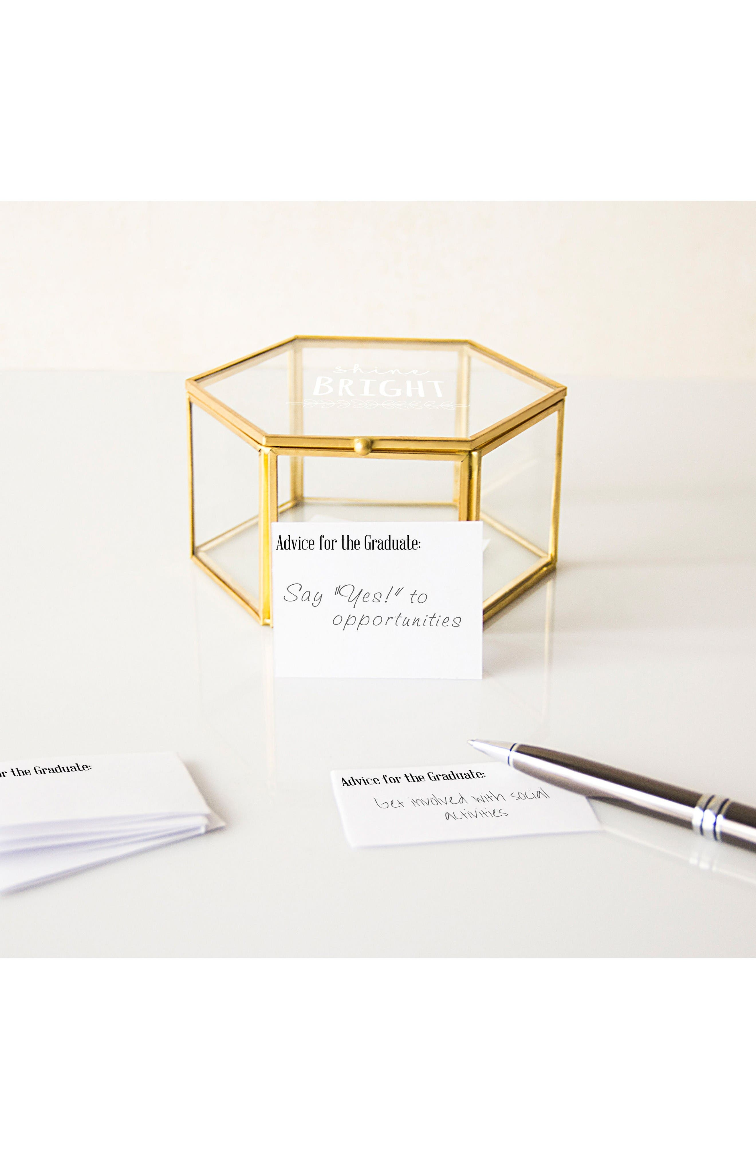 Alternate Image 7  - Cathy's Concepts Shine Bright Keepsake Box