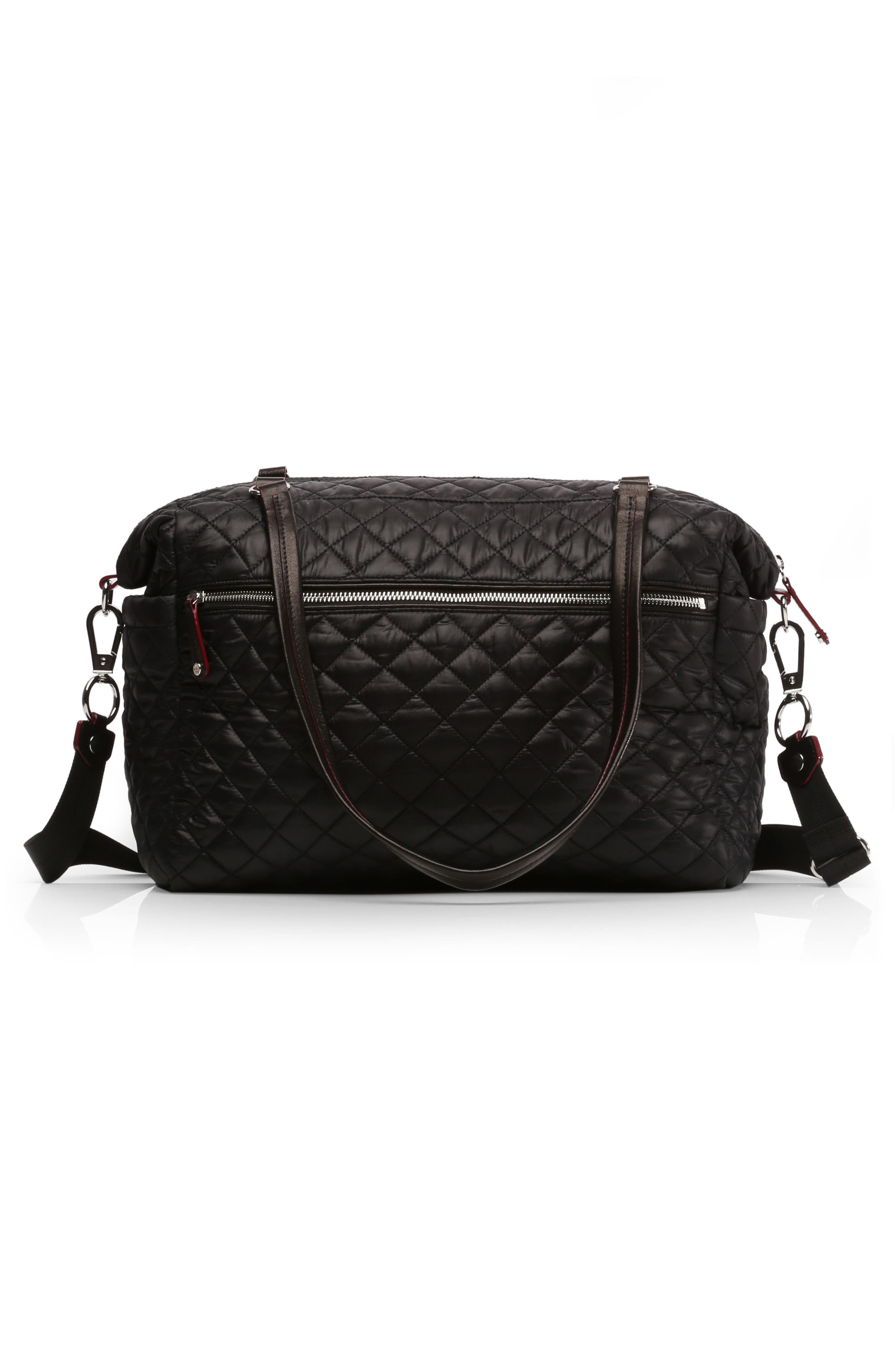 Alternate Image 2  - MZ Wallace Crosby Quilted Traveler Oxford Nylon Diaper Bag