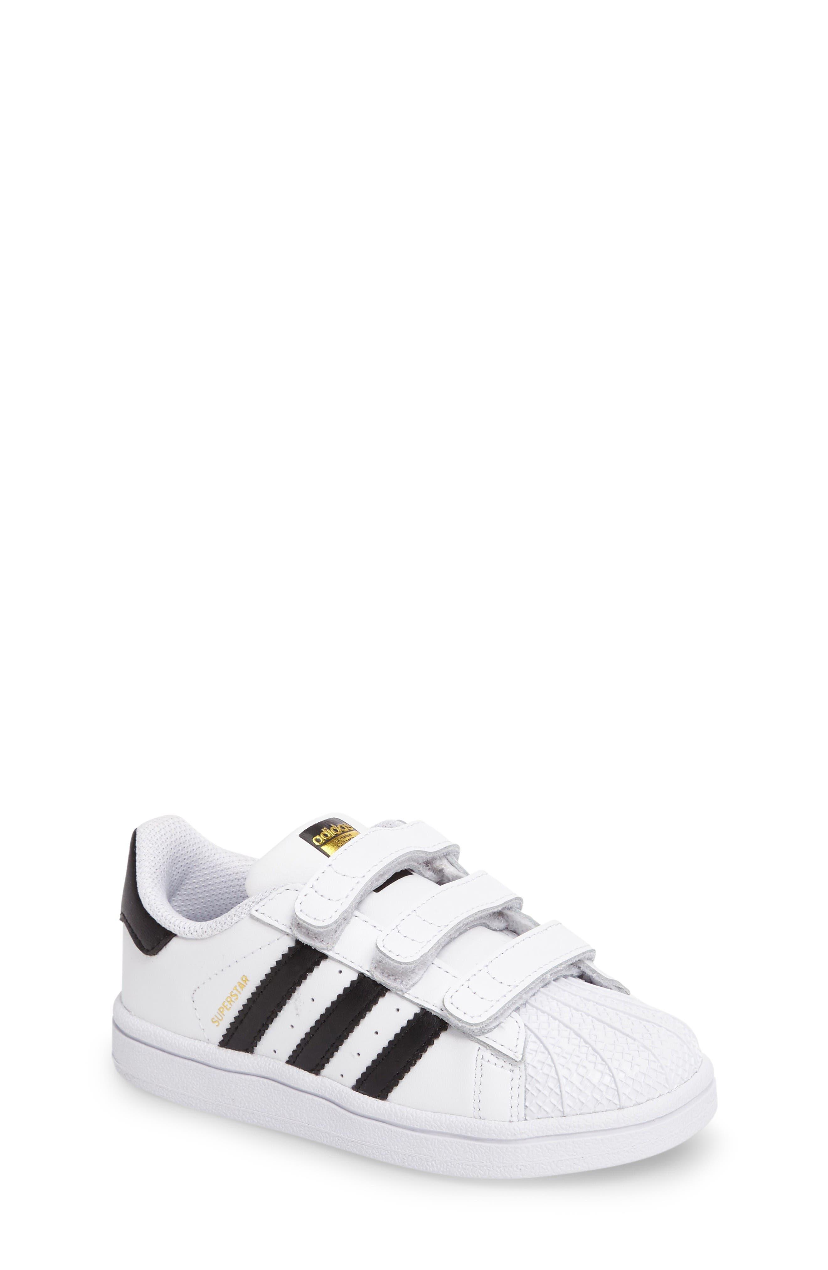 adidas Superstar Foundation Sneaker (Baby, Walker \u0026 Toddler)