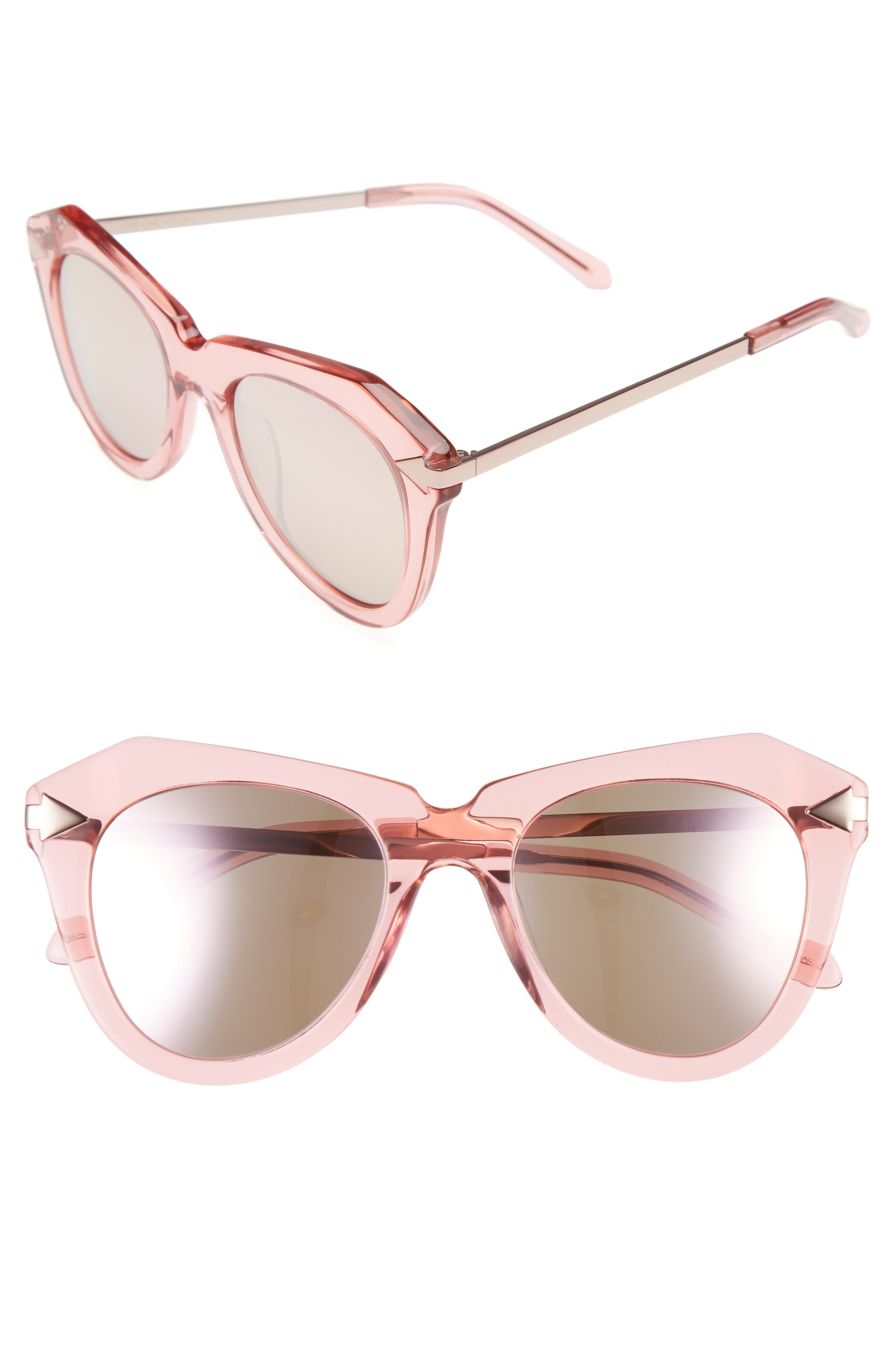 Main Image - Karen Walker One Star 50mm Retro Sunglasses