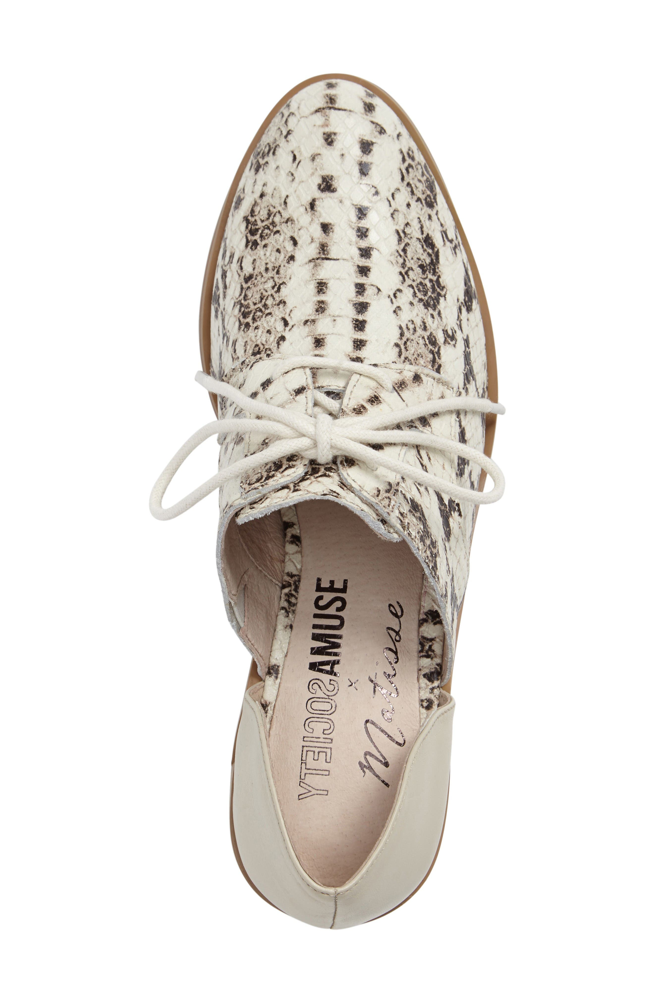 Alternate Image 3  - Amuse Society x Matisse Amuse Me Cutout Oxford (Women)