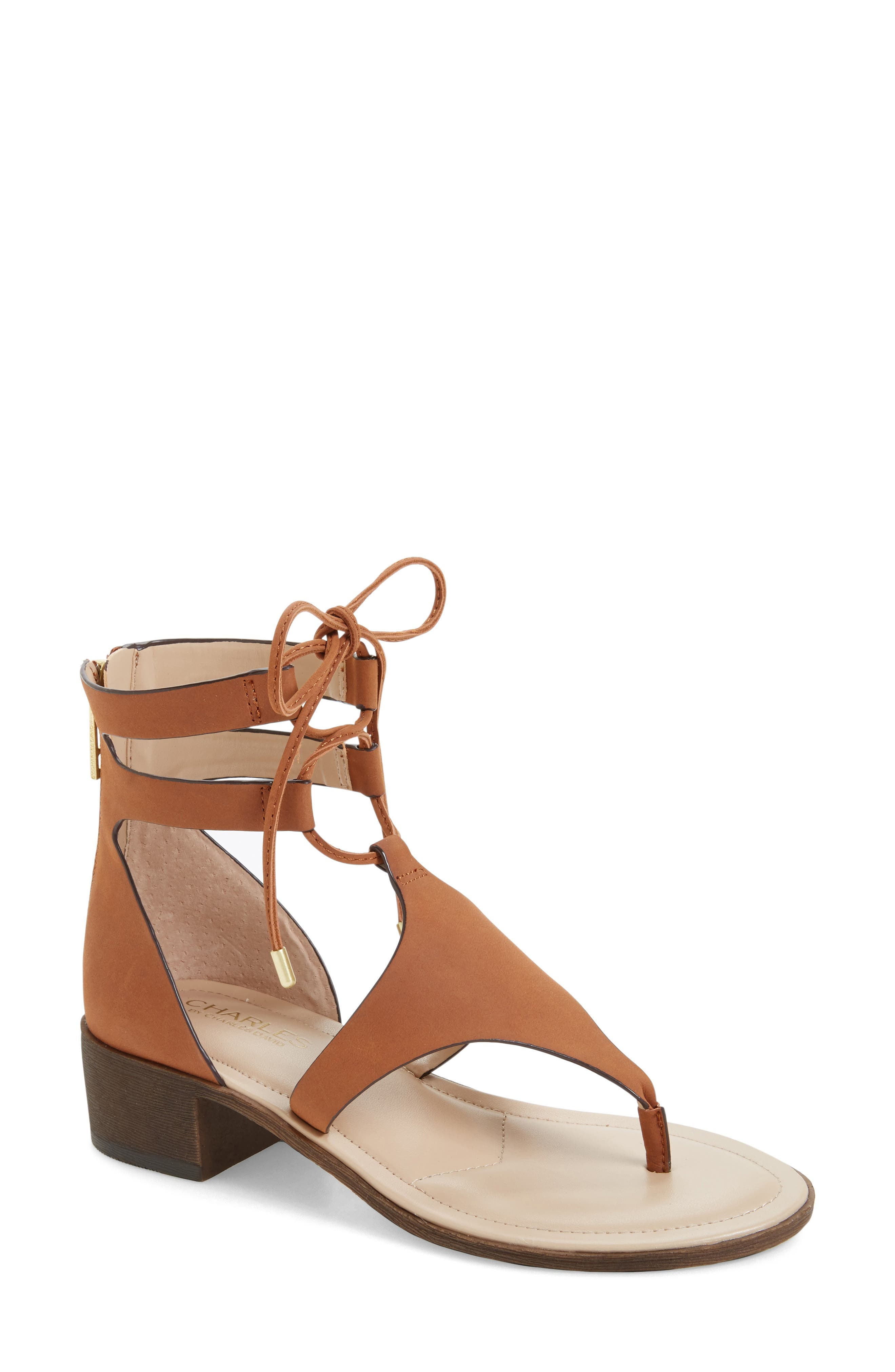 Charles by Charles David Chessa Lace-Up Sandal (Women)