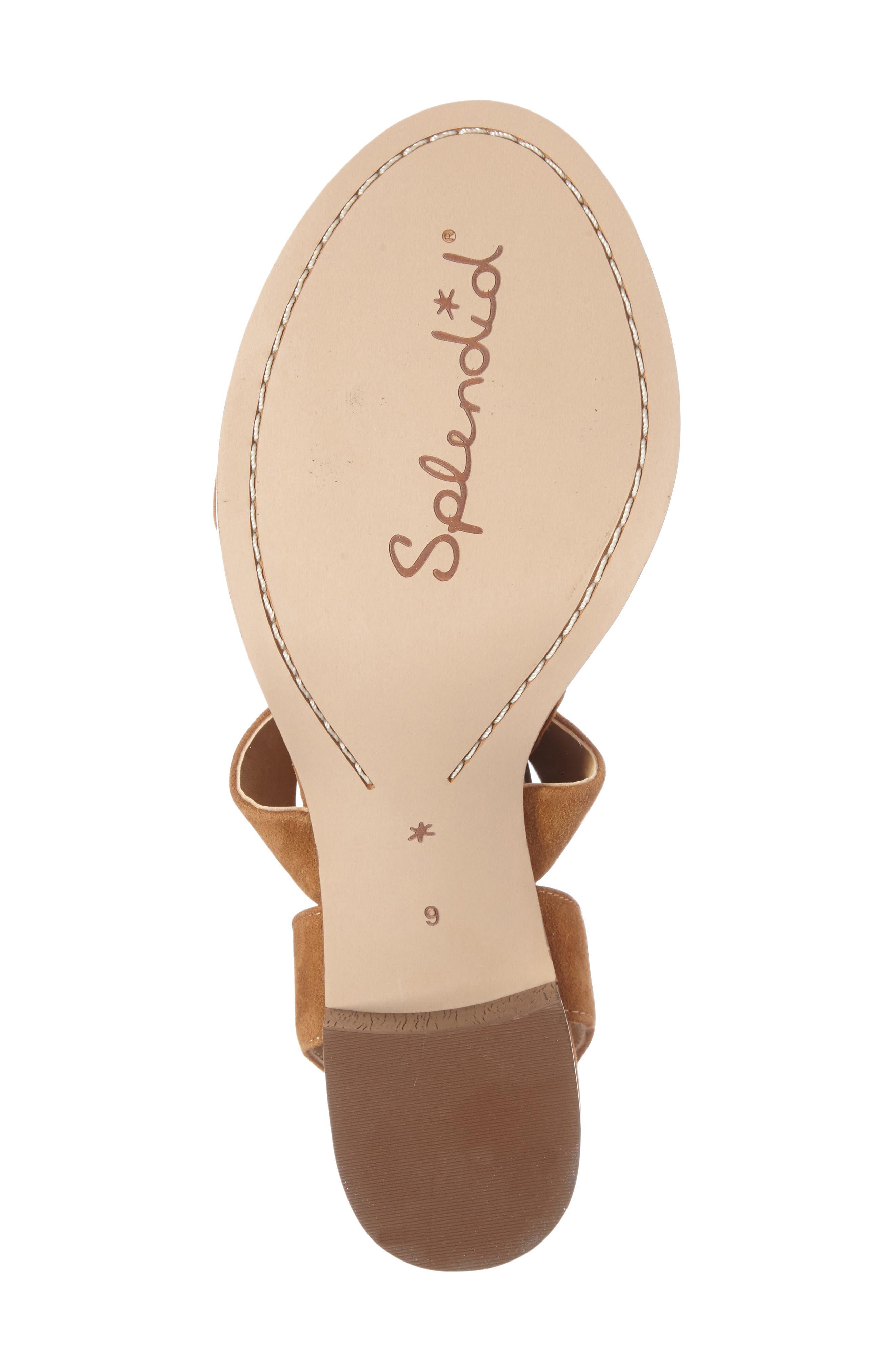 Alternate Image 4  - Splendid Janet Block Heel Sandal (Women)