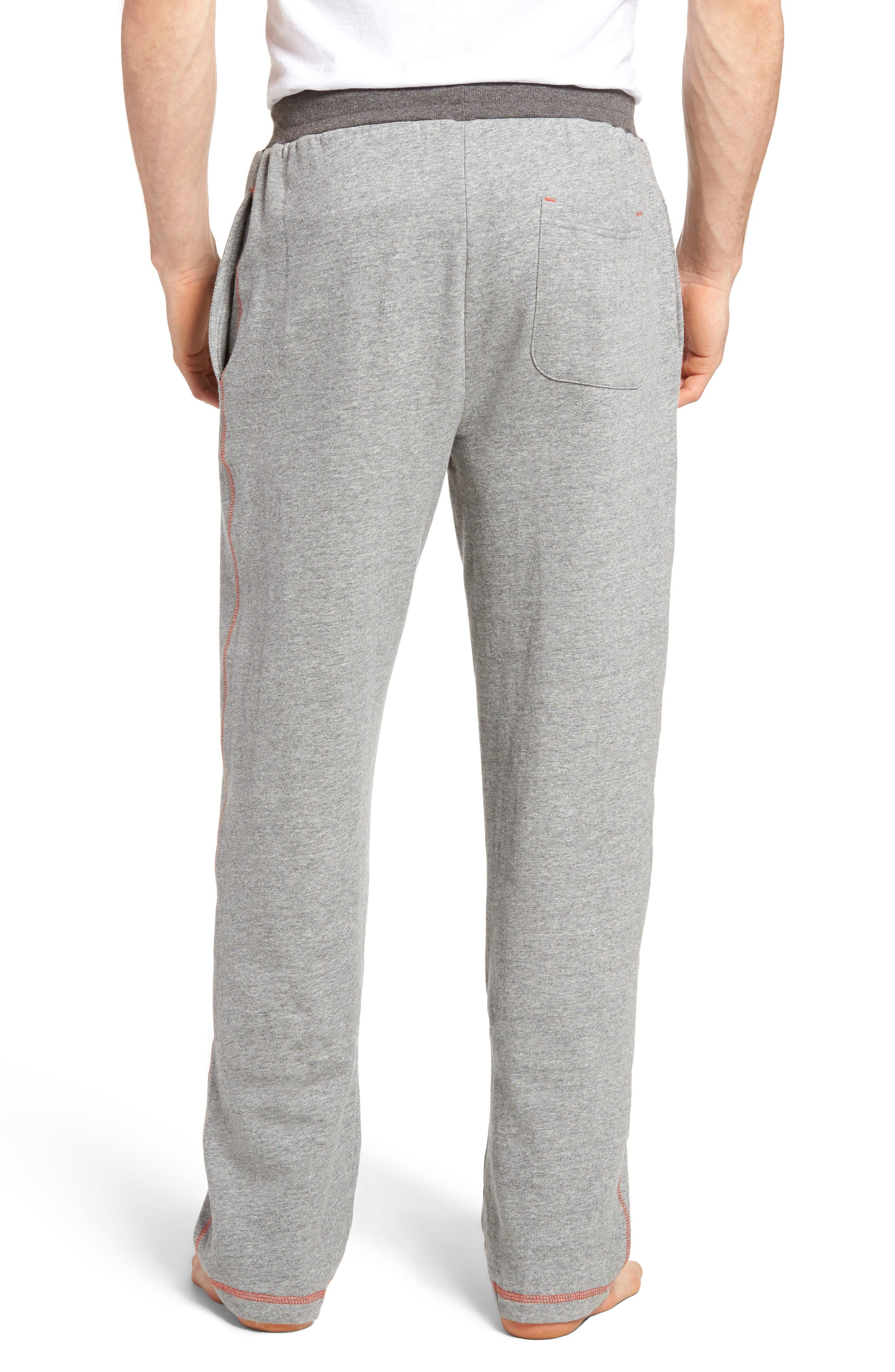 Bhooka Cotton Blend Lounge Pants,                             Alternate thumbnail 2, color,                             Charcoal Heather