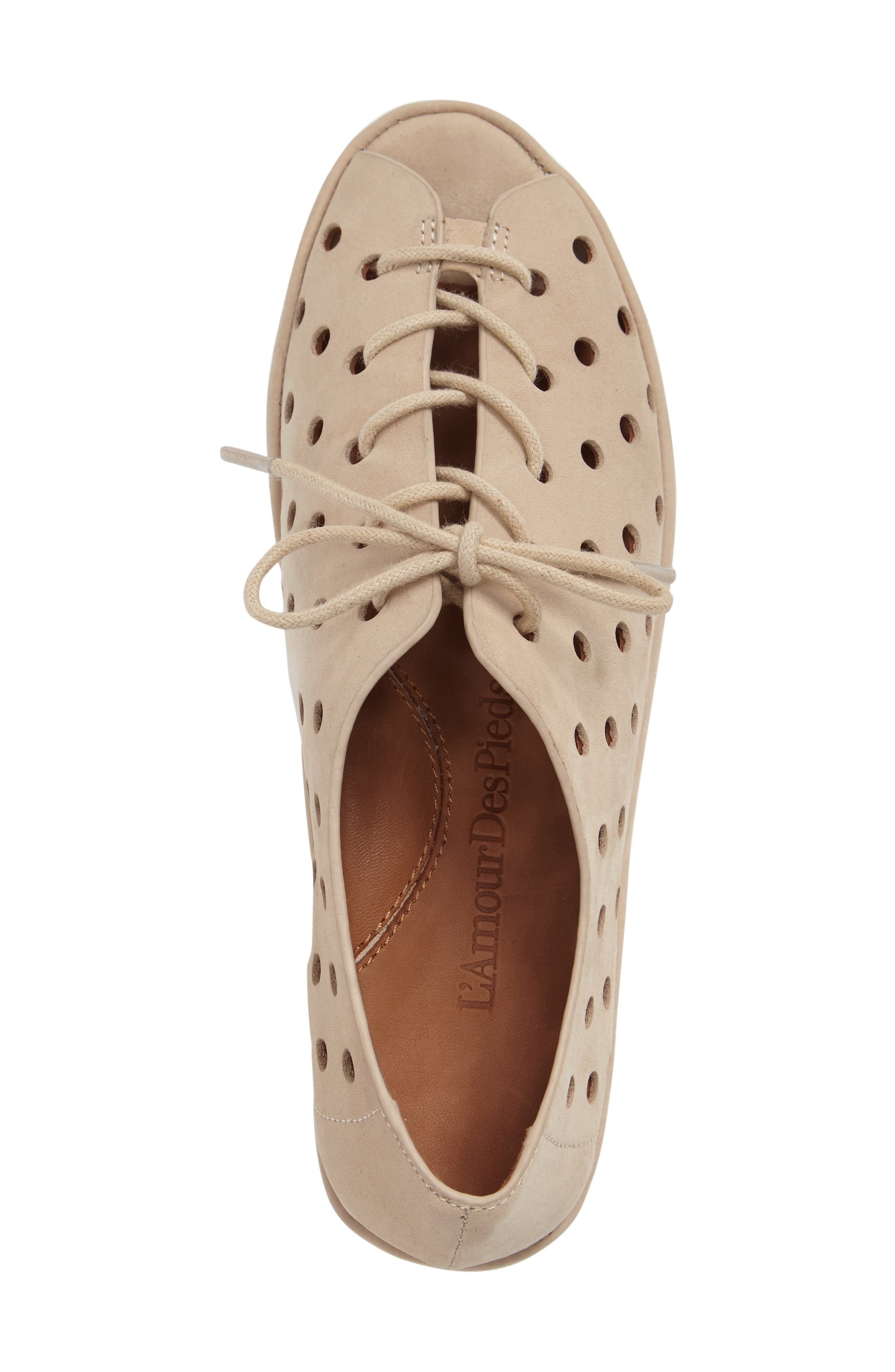 Alternate Image 3  - L'Amour des Pieds Boccoo Perforated Lace-Up Oxford (Women)