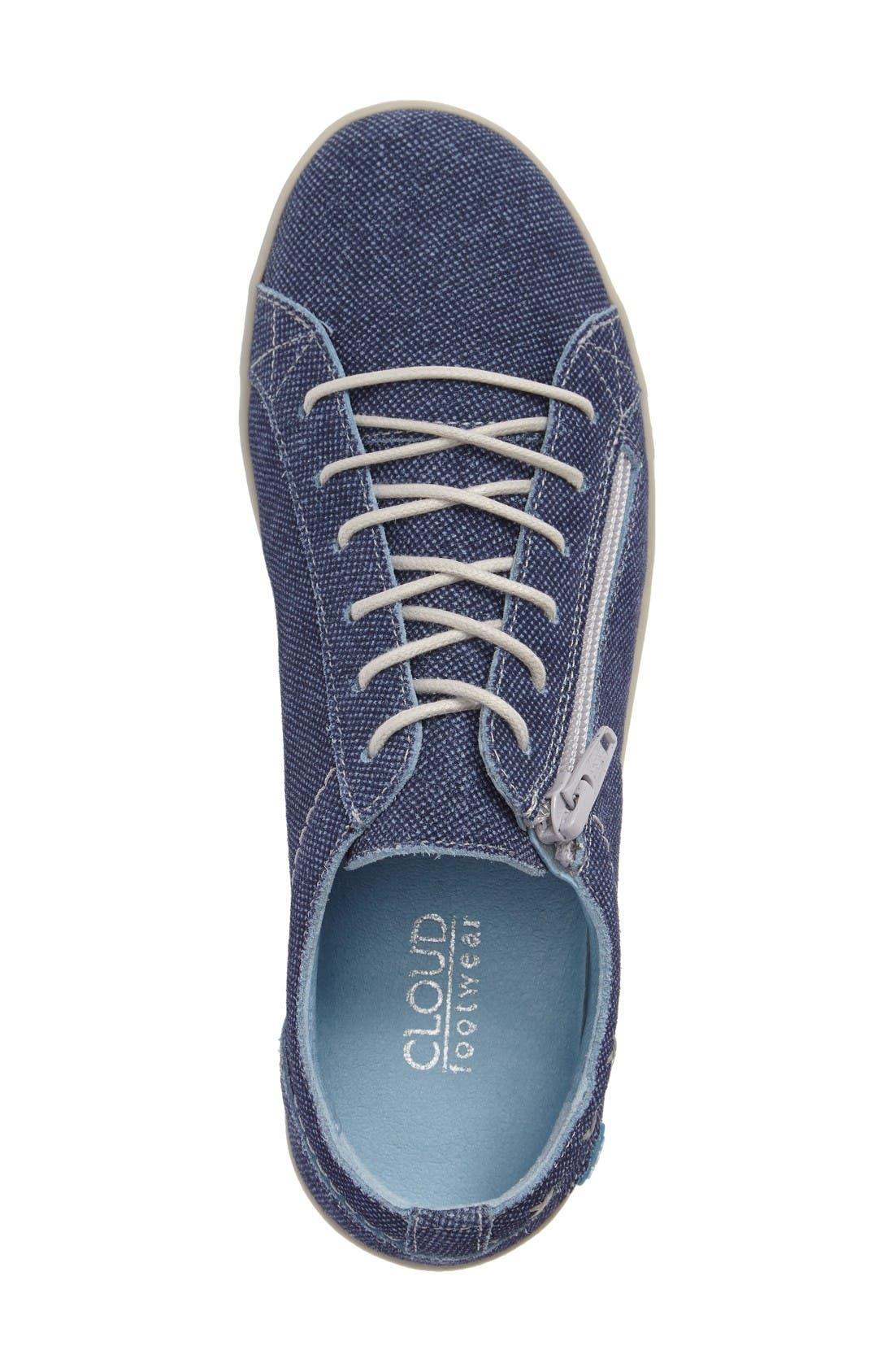 Alternate Image 8  - CLOUD 'Aika' Leather Sneaker (Women)