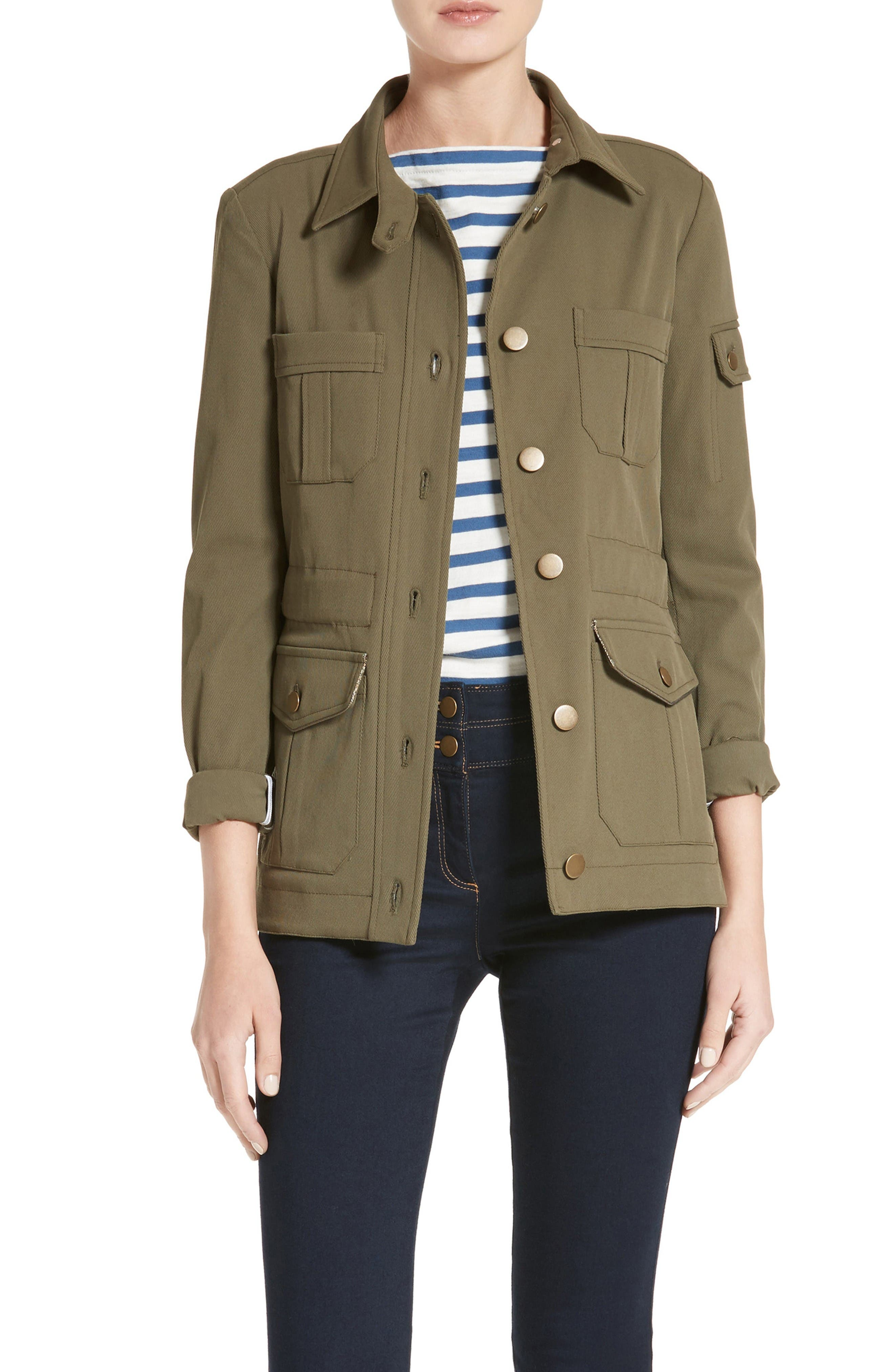 Camp Jacket,                         Main,                         color, Army Green