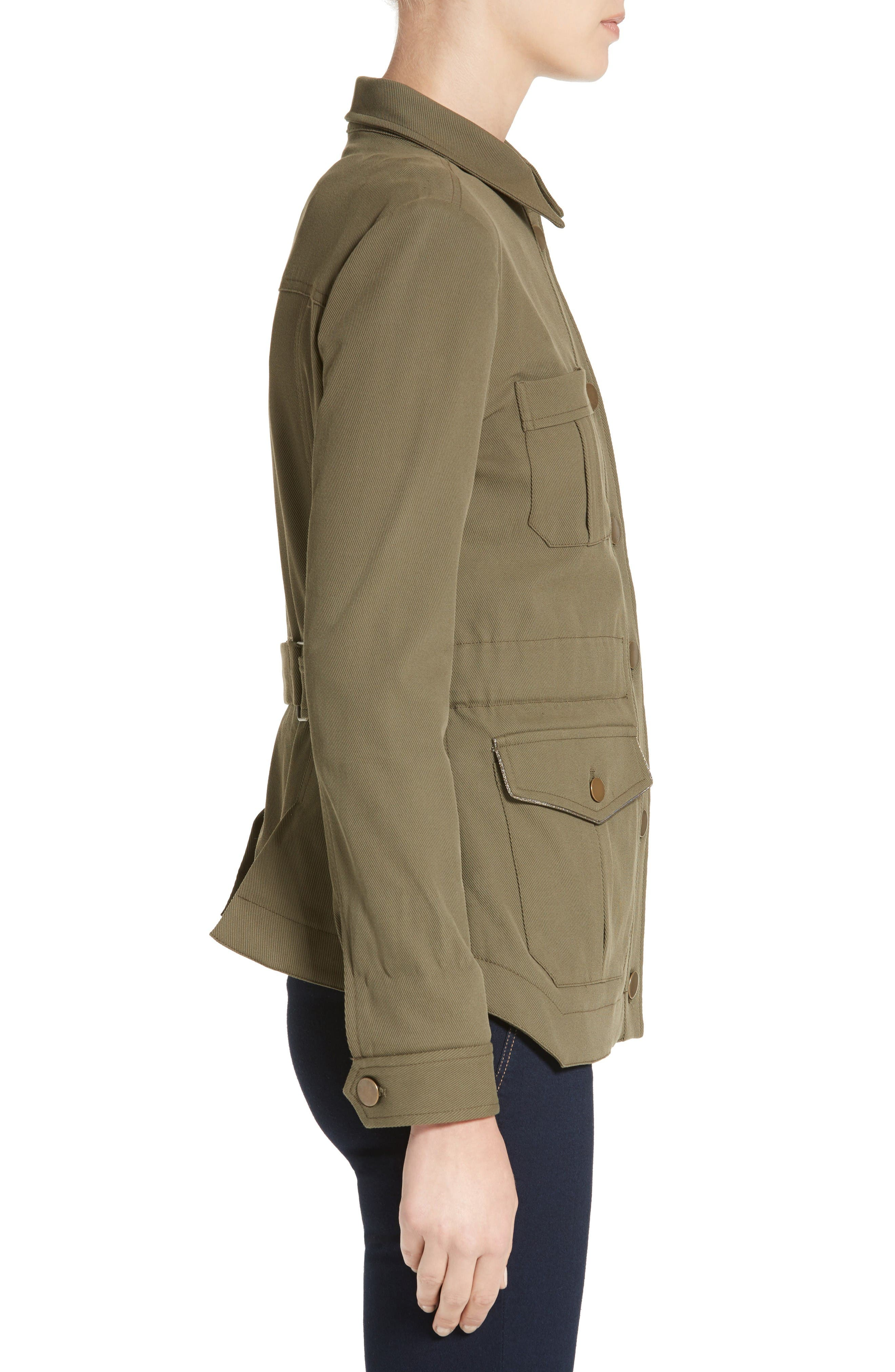 Camp Jacket,                             Alternate thumbnail 5, color,                             Army Green