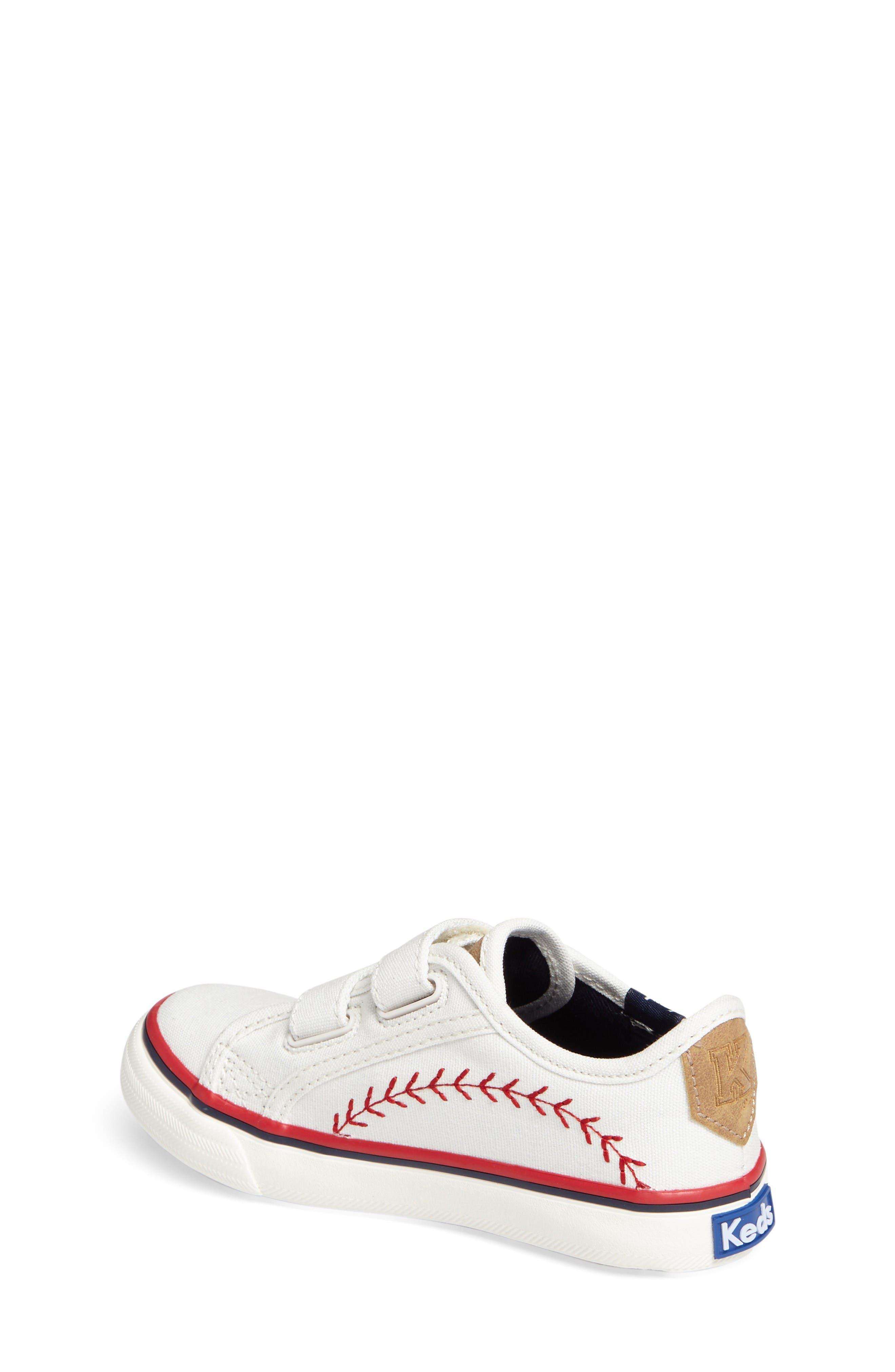 Alternate Image 2  - Keds® Pennant Double Up Sneaker (Baby, Walker & Toddler)