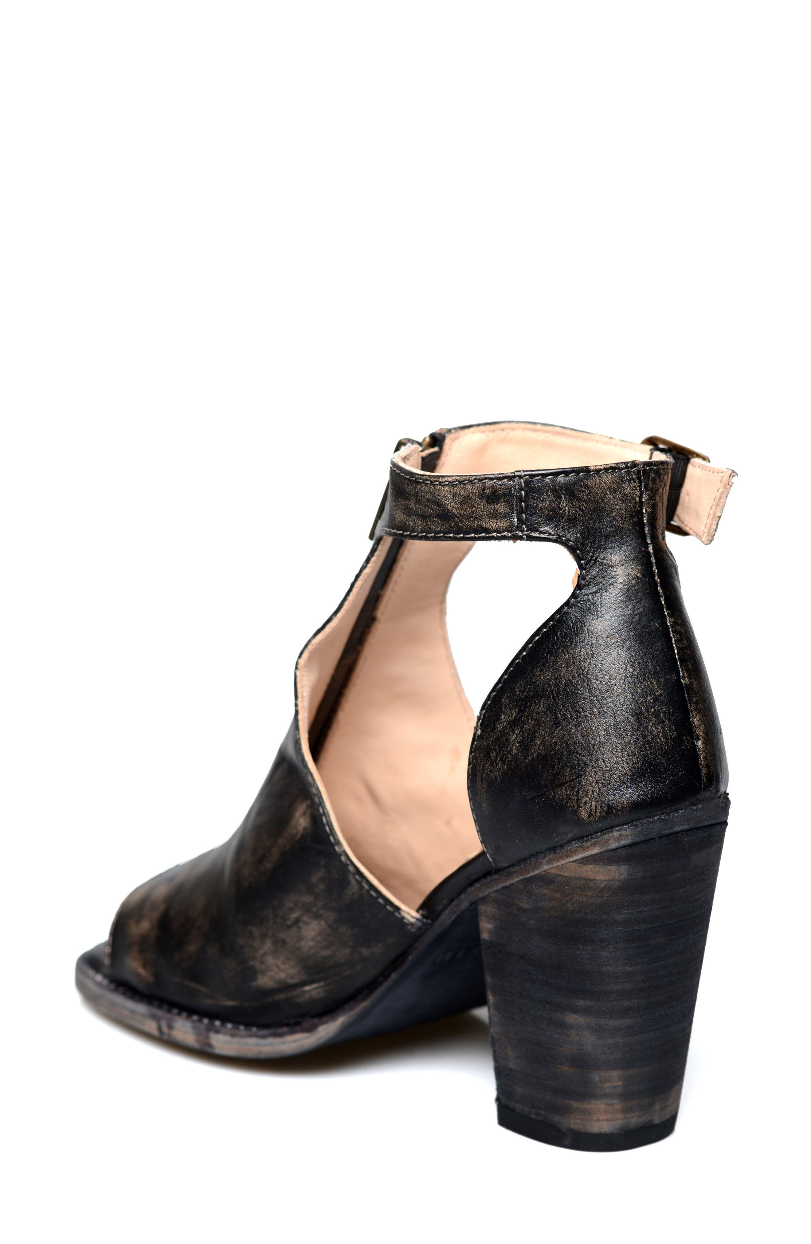 Alternate Image 2  - Bed Stu Olena Open Toe Bootie (Women)