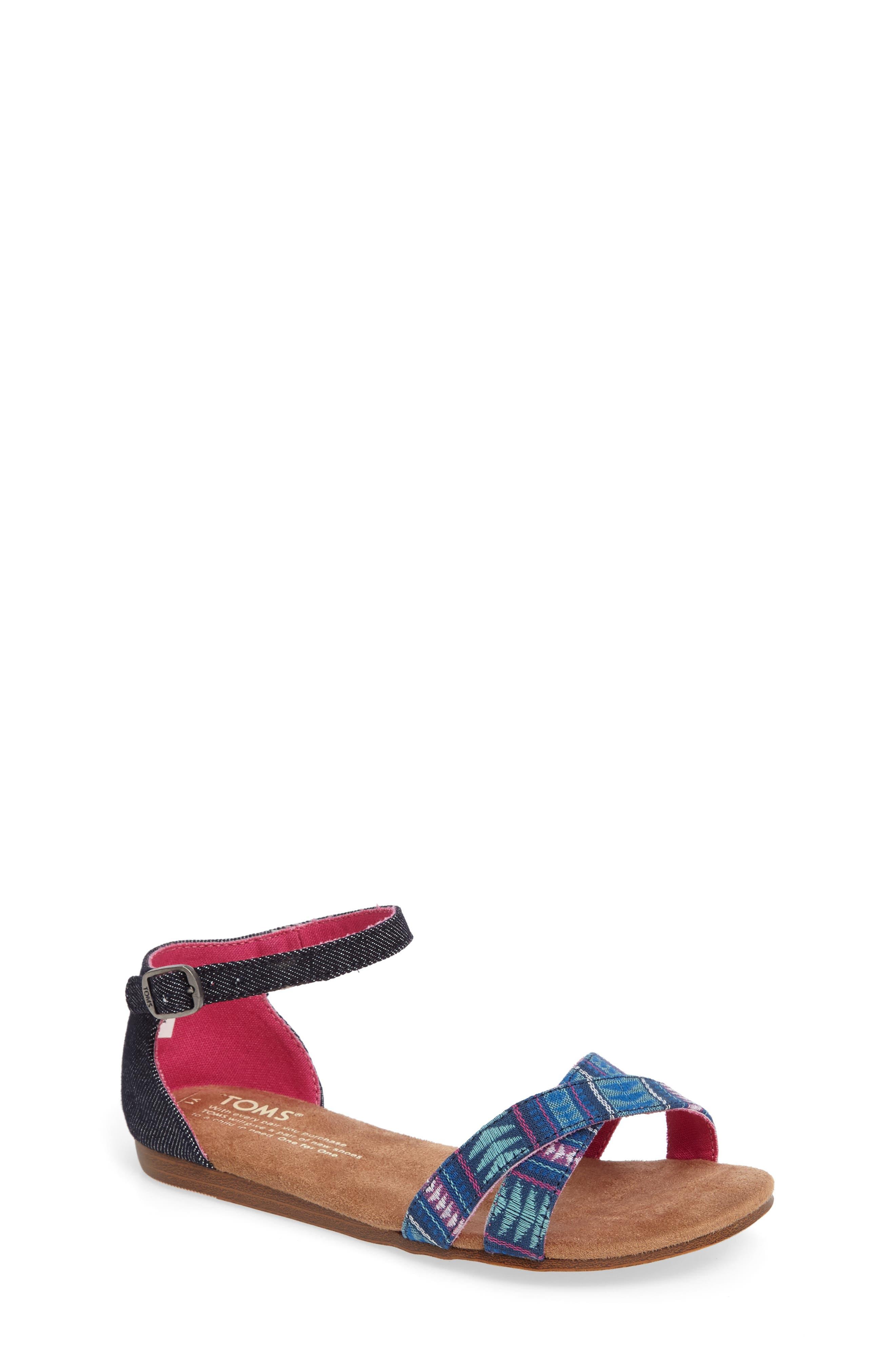 TOMS Correa Ankle Strap Sandal