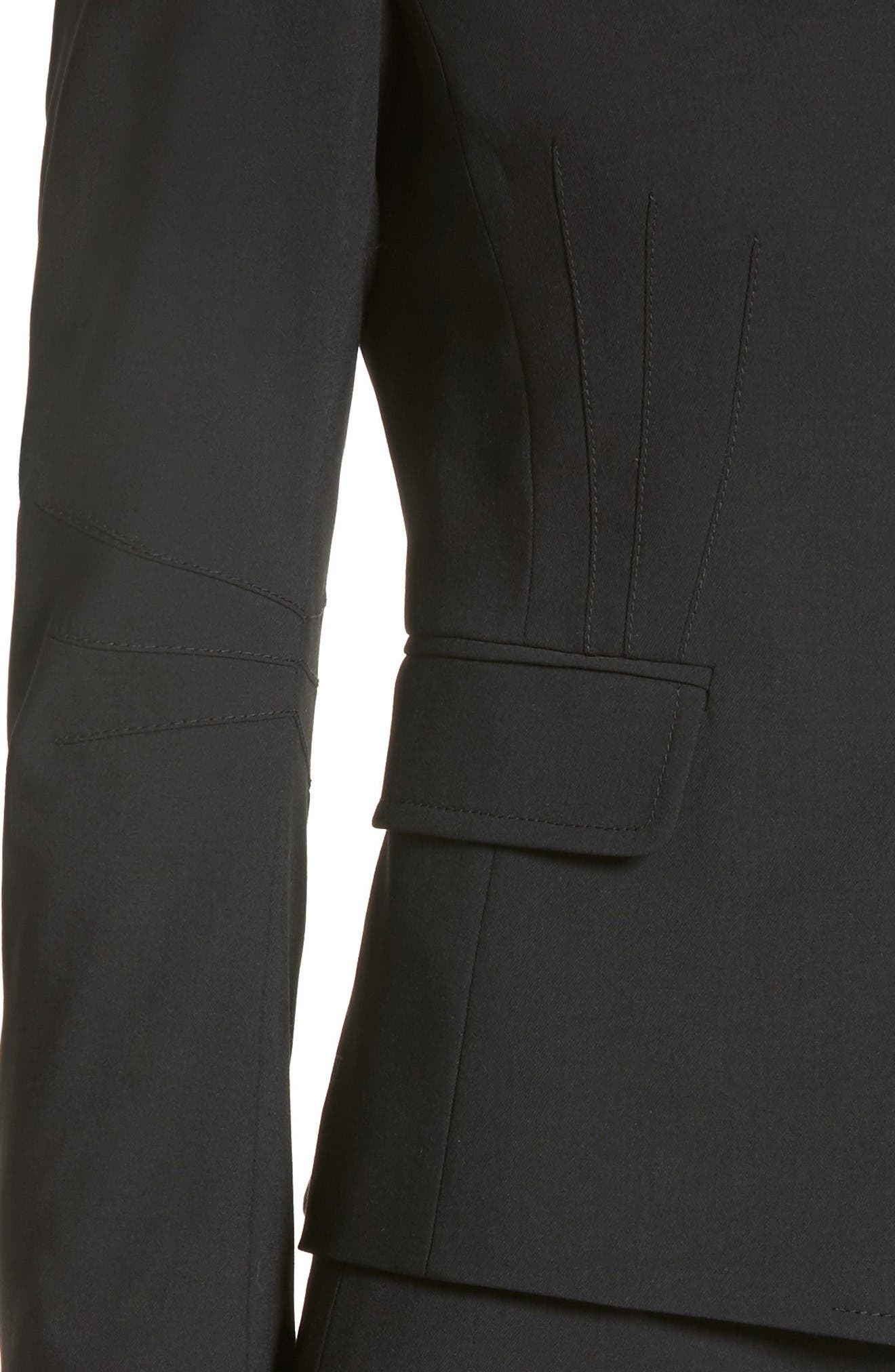 Alternate Image 6  - Akris punto Fitted Wool Jacket