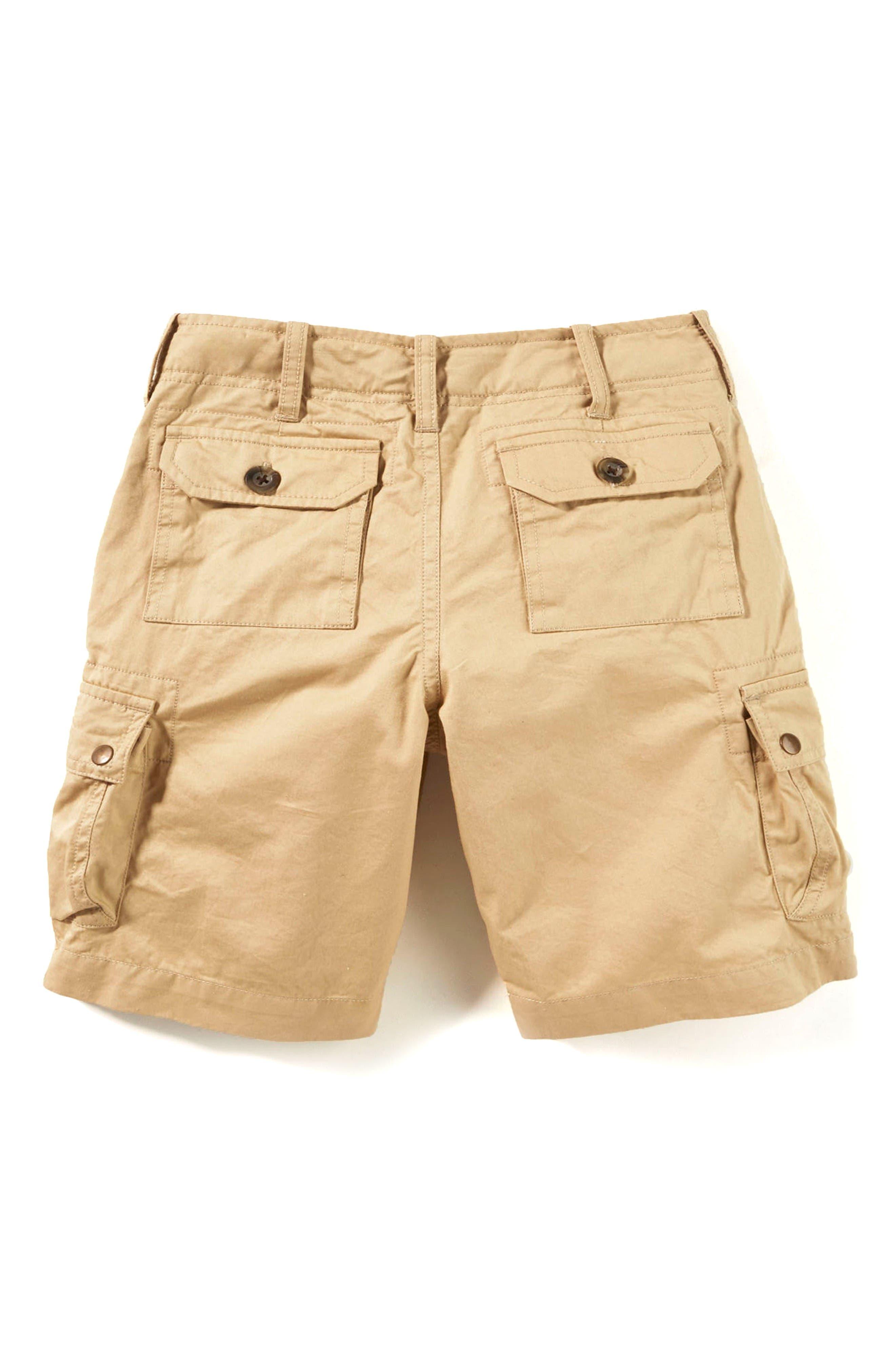 Cargo Shorts,                             Alternate thumbnail 2, color,                             Khaki