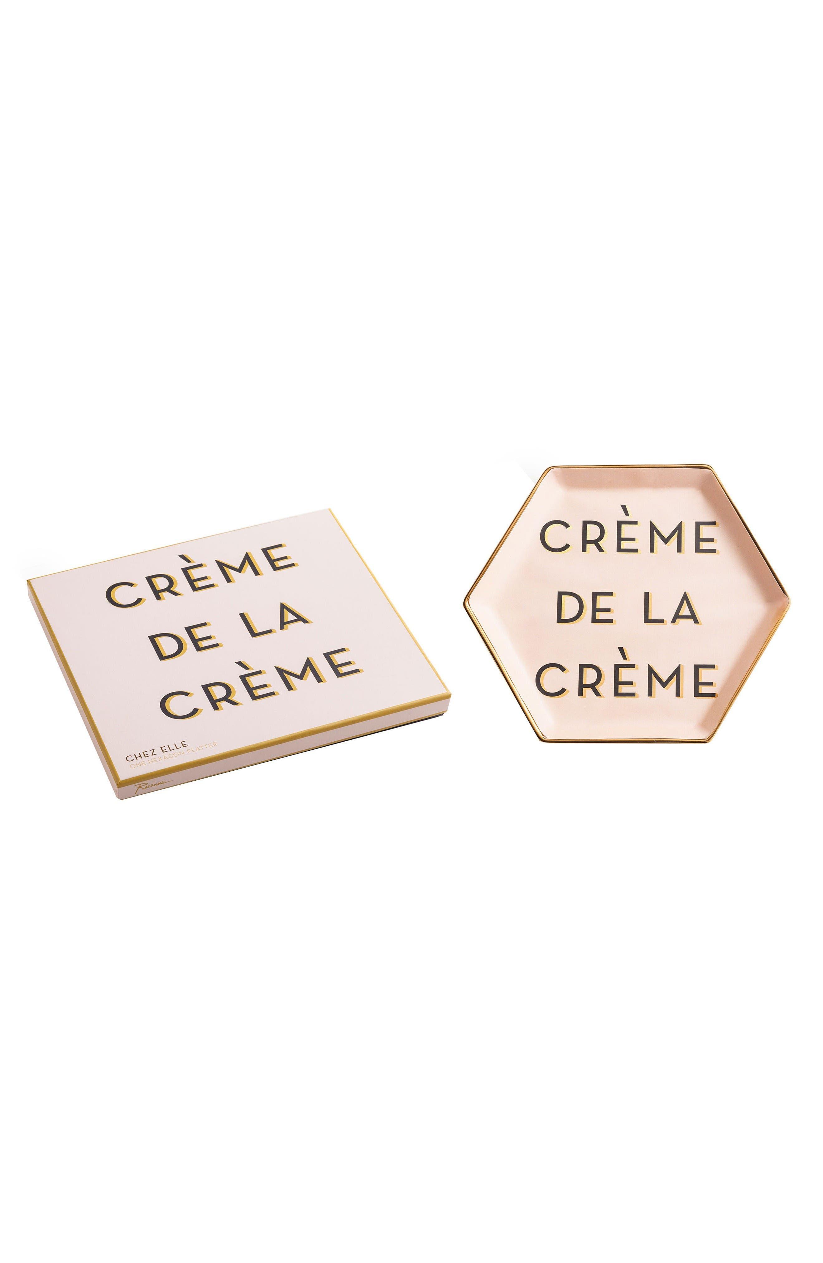Alternate Image 1 Selected - Rosanna Chez Elle - Crème de la Crème Porcelain Trinket Tray