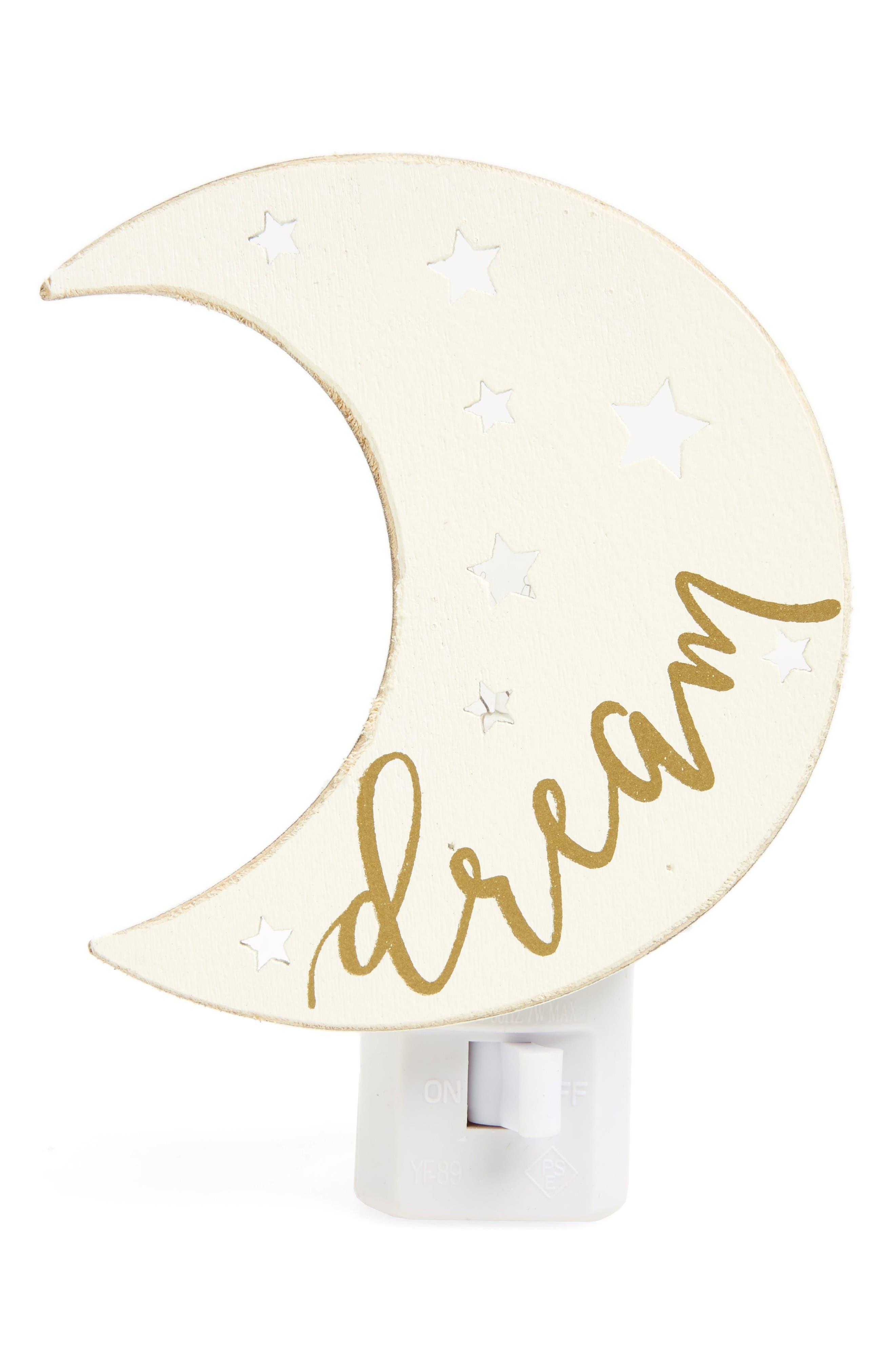 Mud Pie Dream Moon Night Light